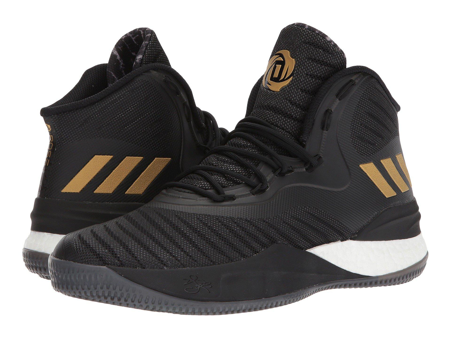 3748f3722be adidas D Rose 8 in Black for Men - Lyst