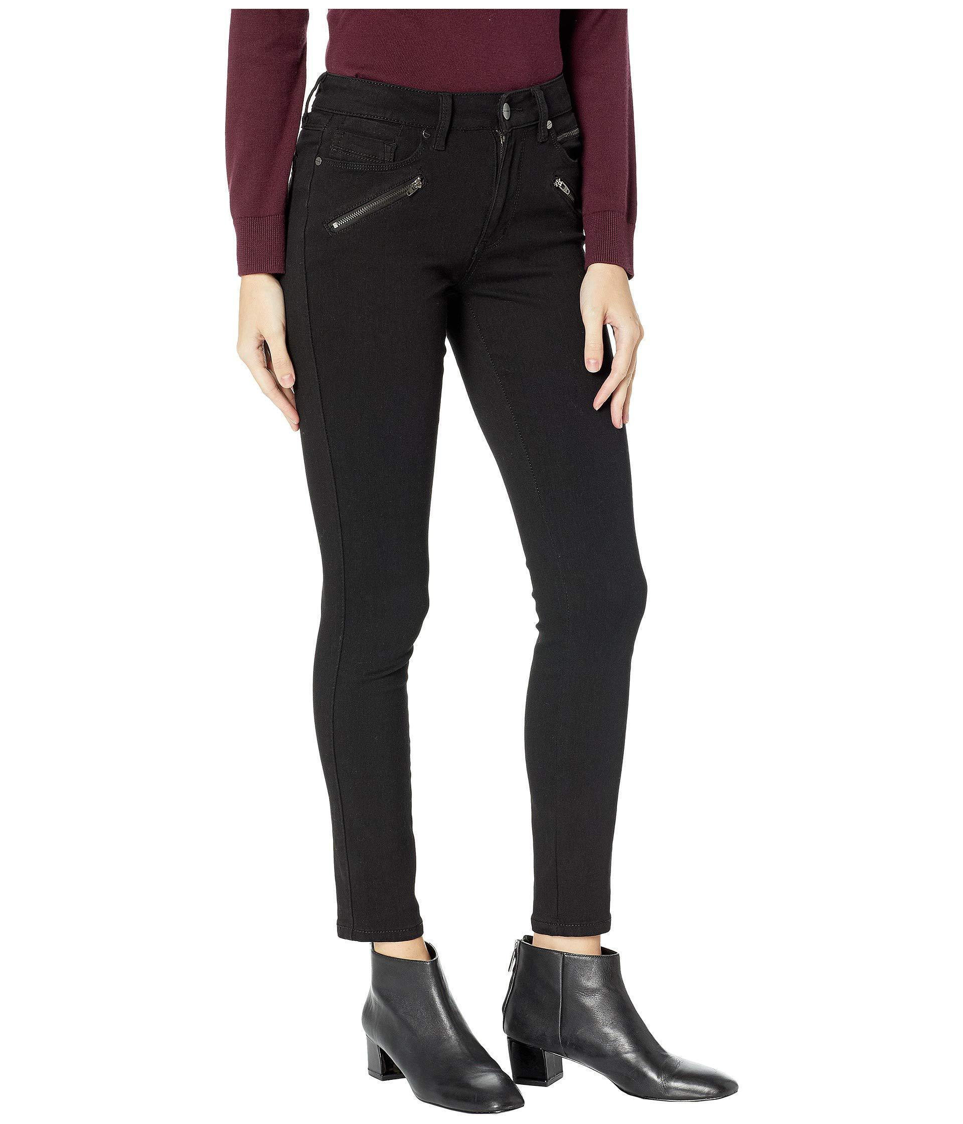 a25ad645524 Kenneth Cole - Jess Moto Skinny In Black (black) Women s Jeans - Lyst. View  fullscreen