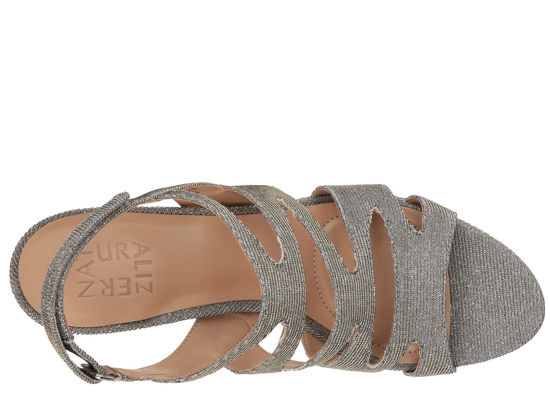 513dda2b259e Lyst - Naturalizer Pressley (taupe Leather) High Heels