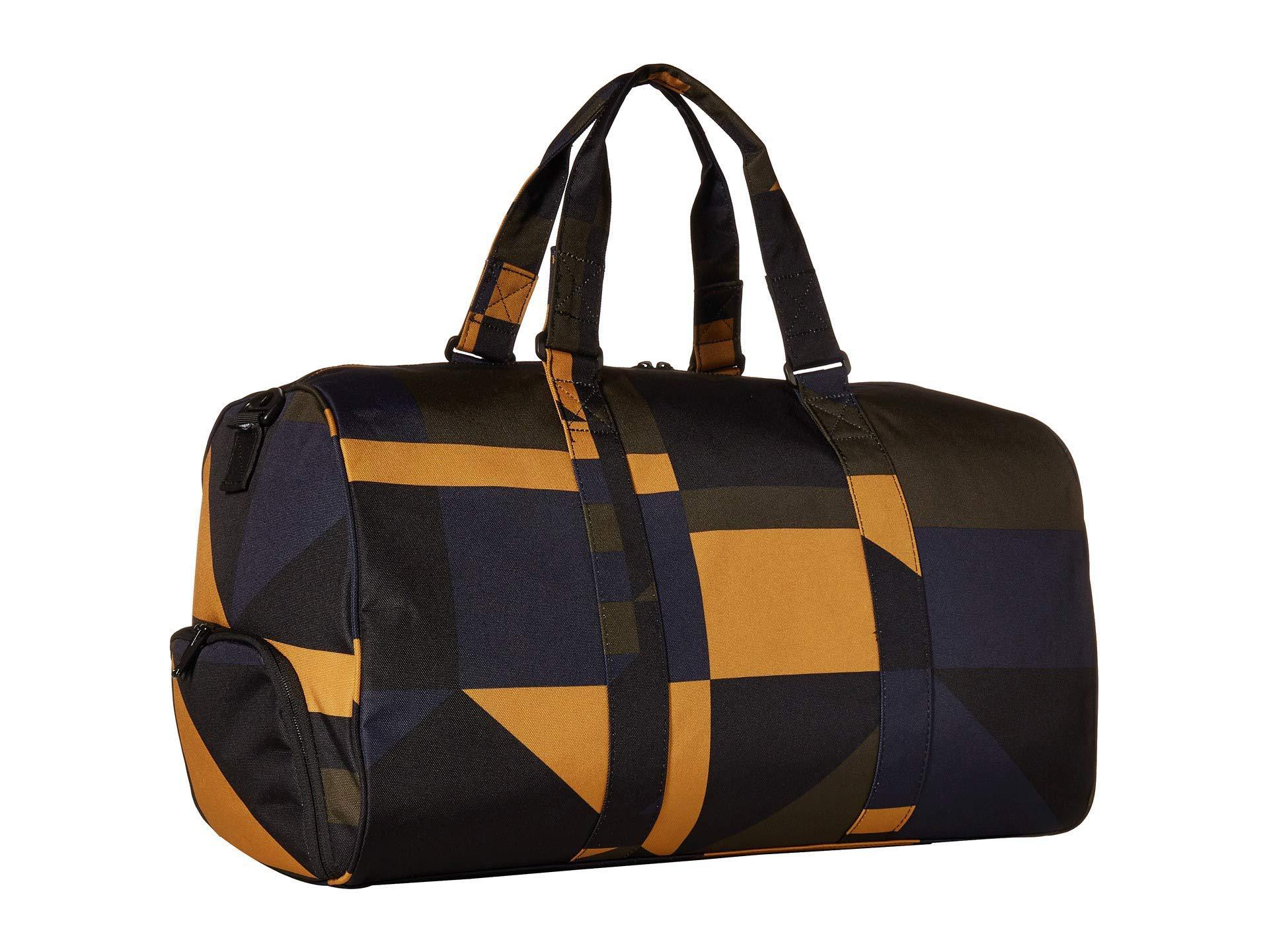 Herschel Supply Co. - Black Novel (light Grey Crosshatch) Duffel Bags for  Men. View fullscreen 640a46e380904
