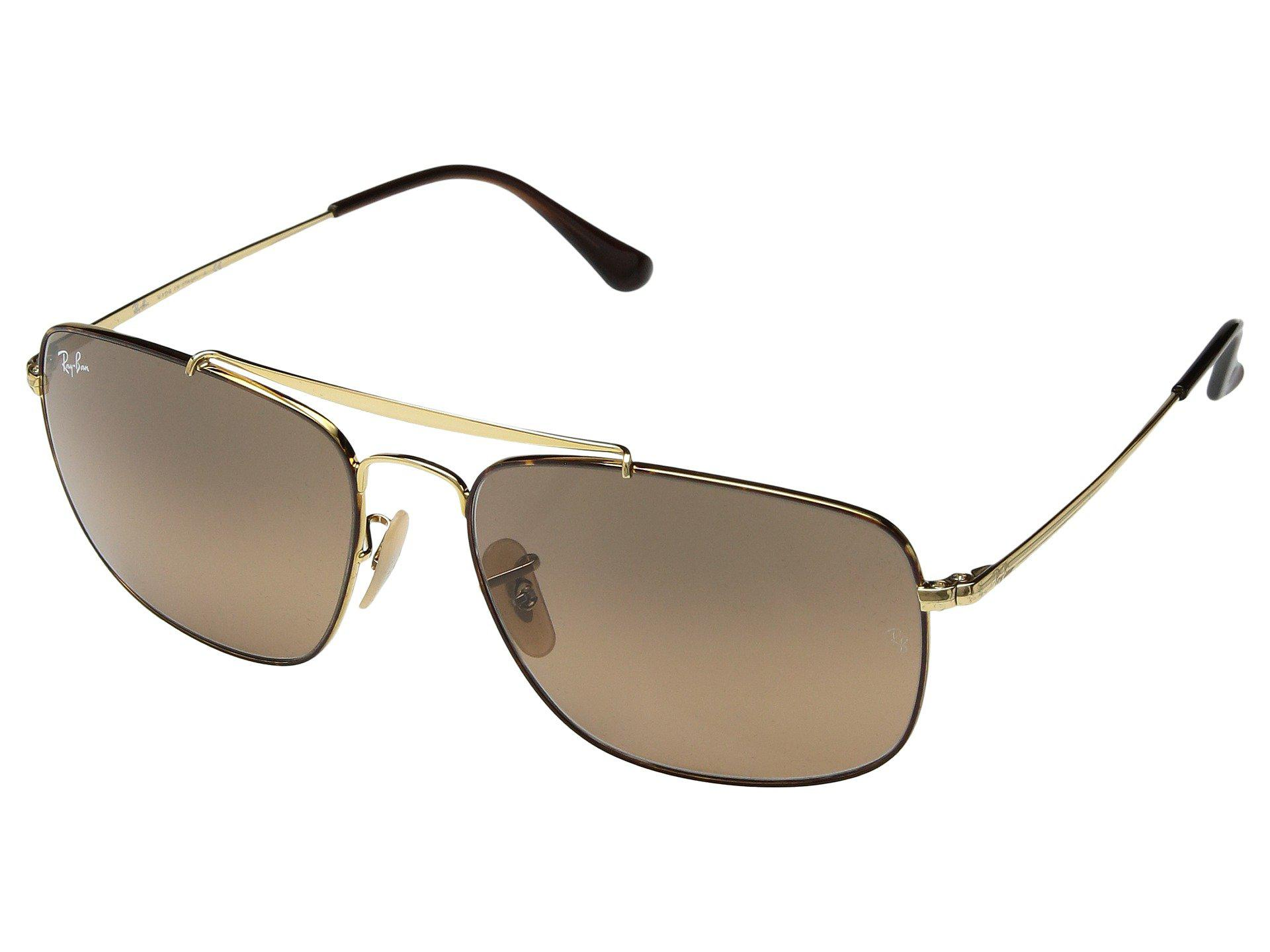 521a84e497f Lyst - Ray-Ban The Colonel Rb3560 61mm (gold green) Fashion ...