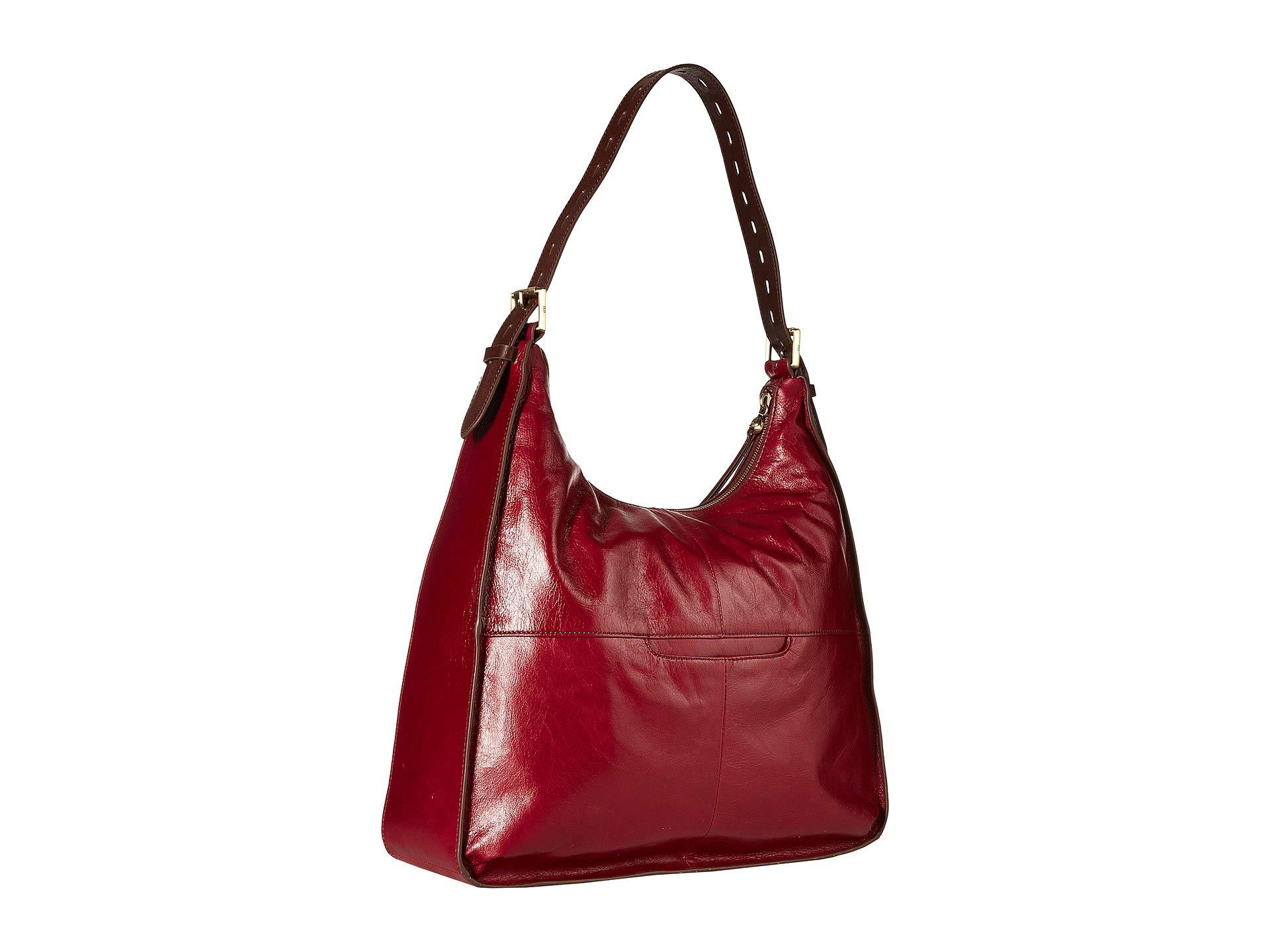 2b89e94bf58a Lyst - Hobo Marley (cameo) Handbags in Red