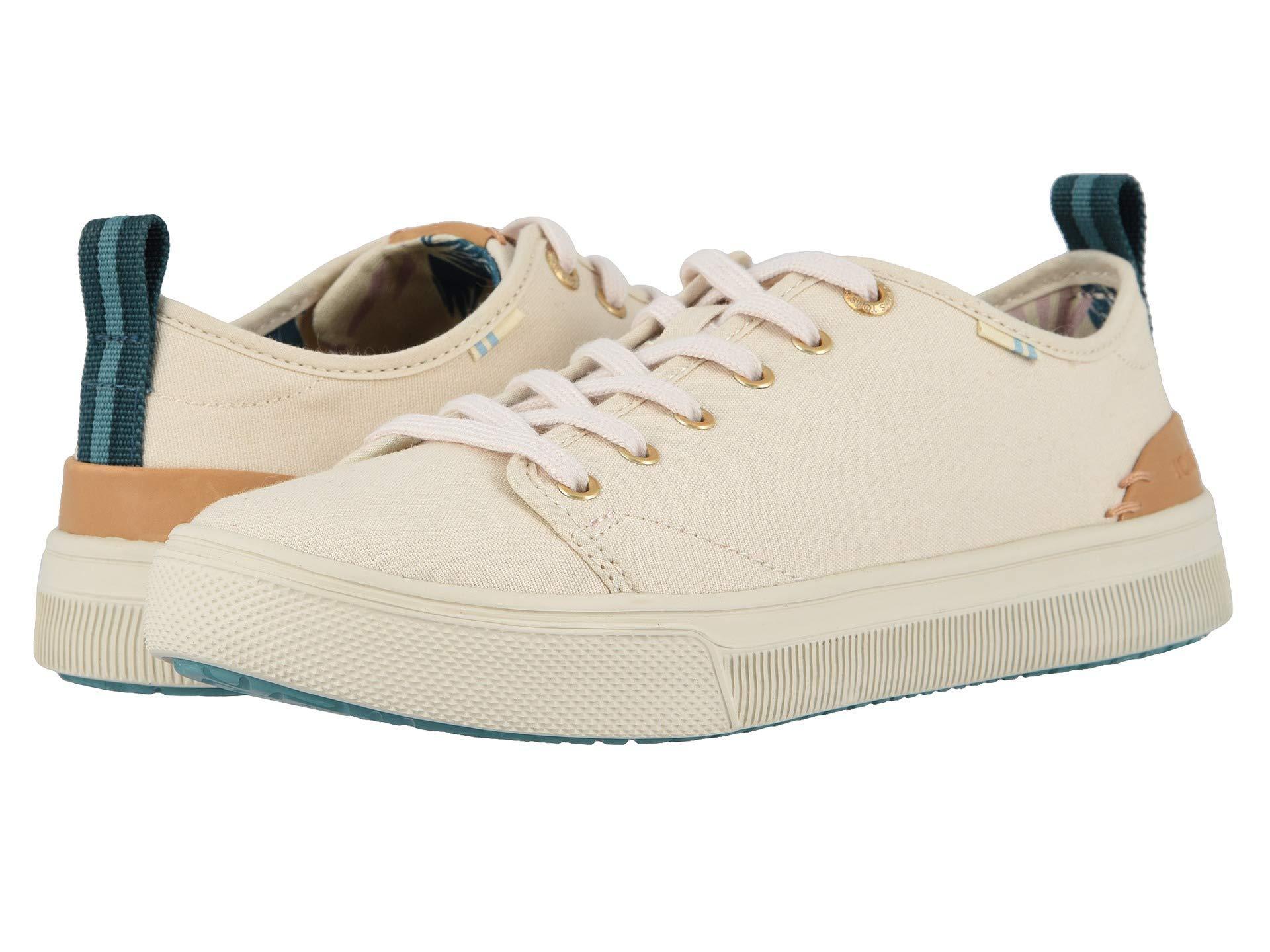 dd37ac4644e Lyst - TOMS Trvl Lite Low (birch Canvas) Women s Shoes