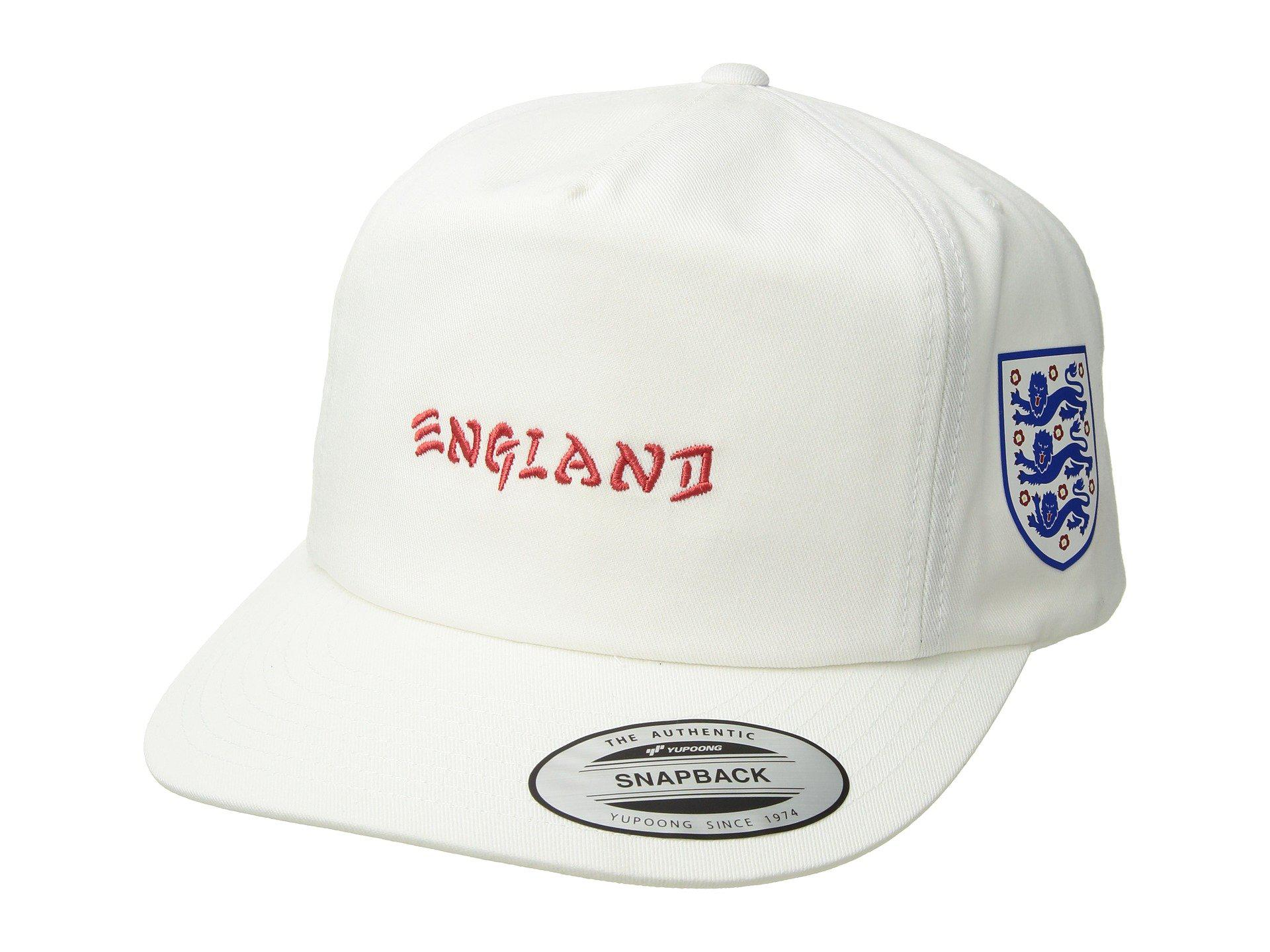 1339b8a69ab4b5 ... cheapest lyst hurley england national team hat white caps in white for  men 3b76e 97641