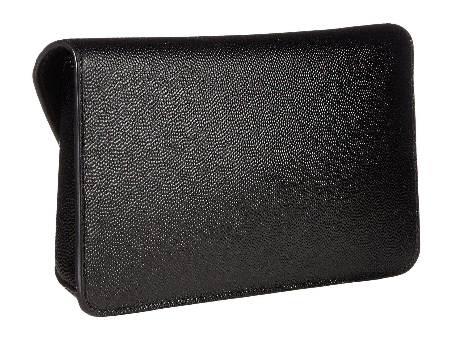 edbee271e99 Tory Burch - Gigi Patent Clutch (black) Clutch Handbags - Lyst. View  fullscreen