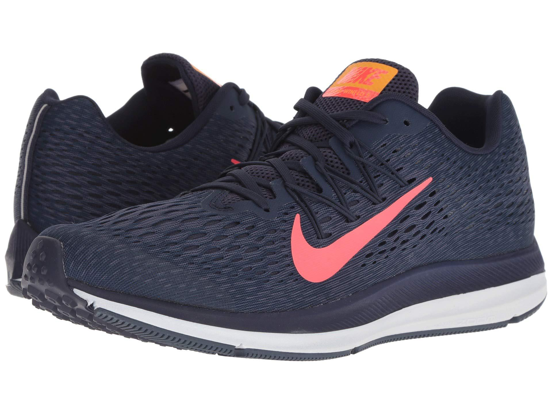fd9e93df506c8 Nike. Blue Air Zoom Winflo 5 (cool Grey black wolf Grey pure Platinum) Men s  Running Shoes