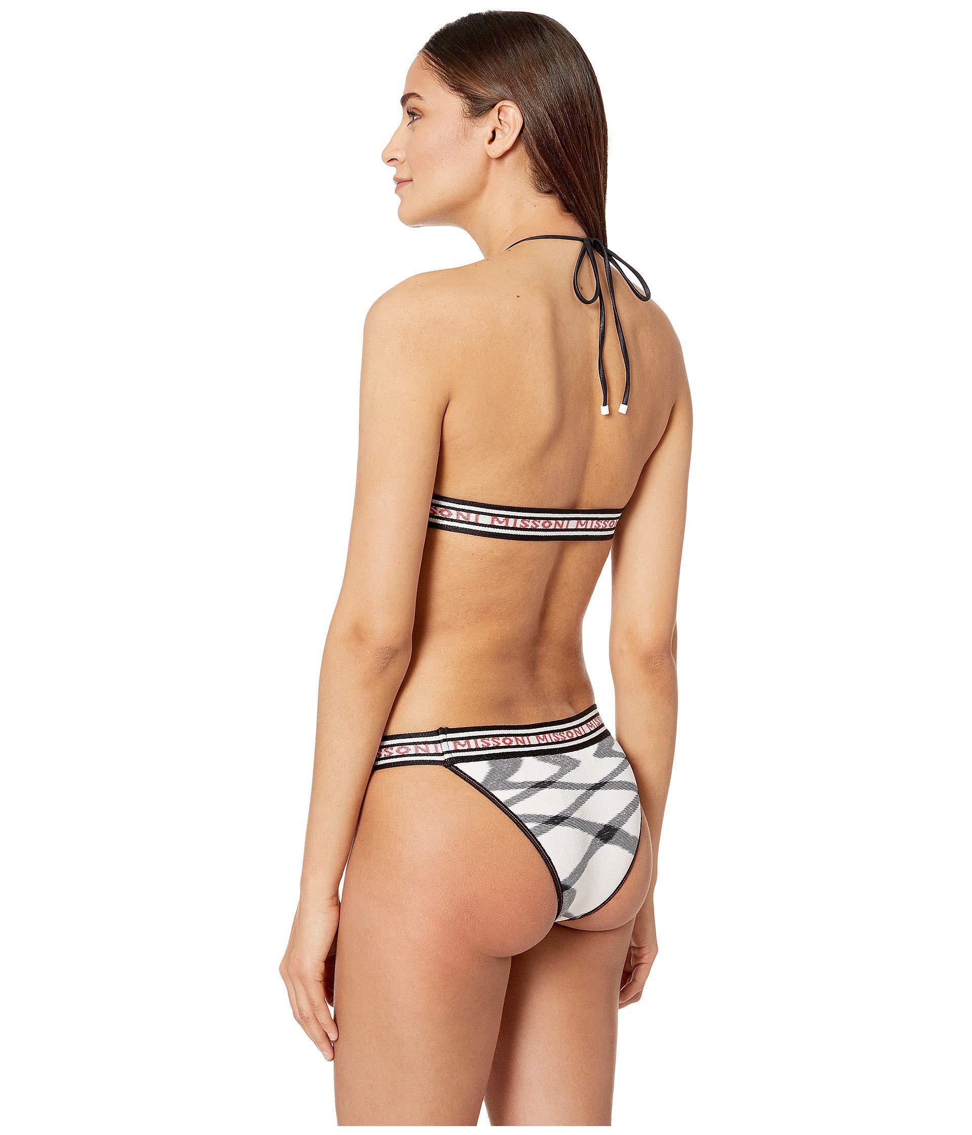 4ae24821aec74 Missoni - Fiammata Bikini (black pink) Women s Swimwear Sets - Lyst. View  fullscreen