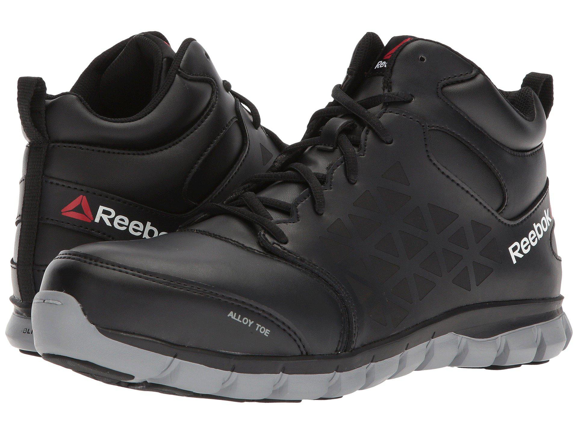91783a9ebc85 Reebok - Sublite Cushion Work Mid Eh (black) Men s Work Boots for Men -.  View fullscreen