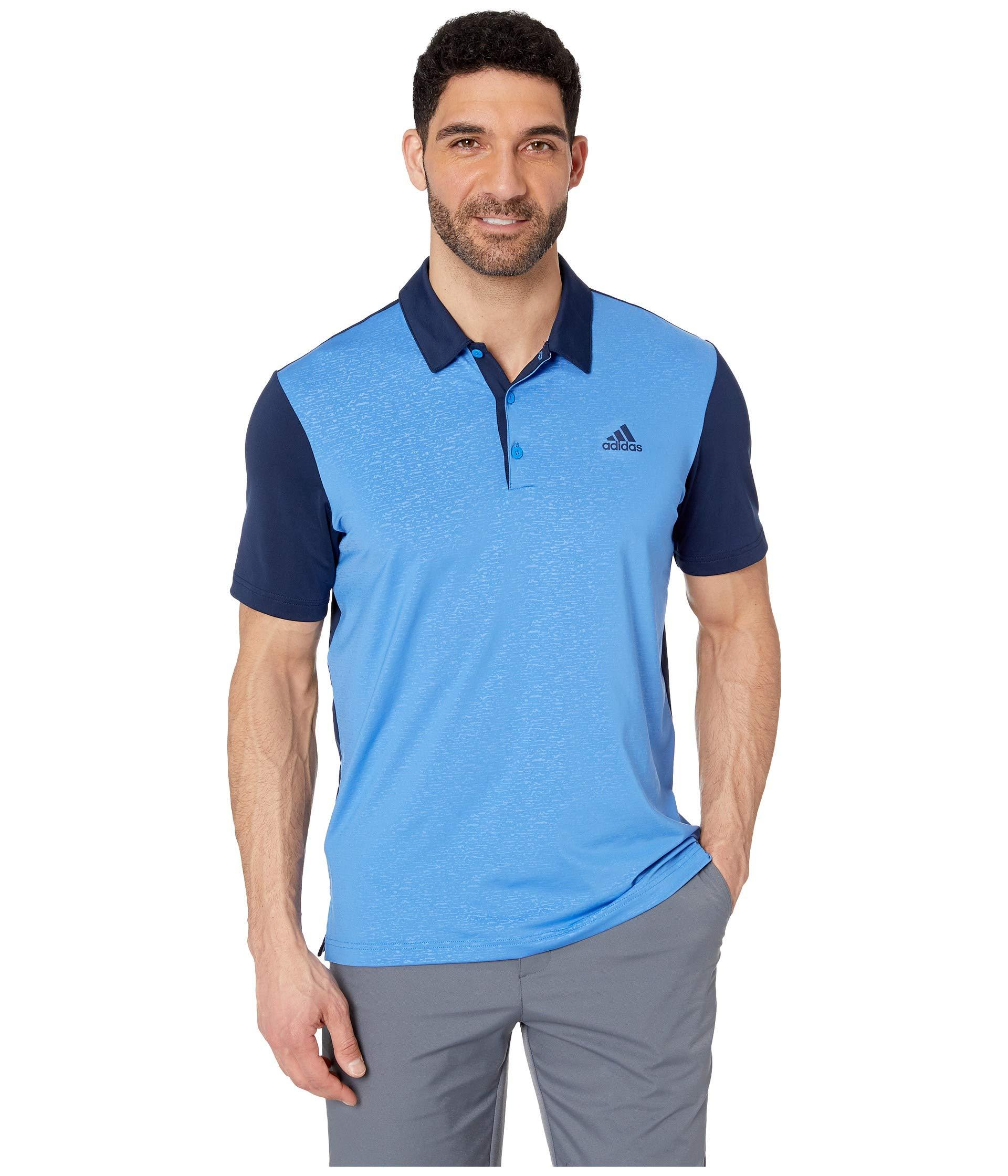 f422e84330ae4 Lyst - adidas Originals Ultimate Climacool(r) Solid Polo (shock Red ...