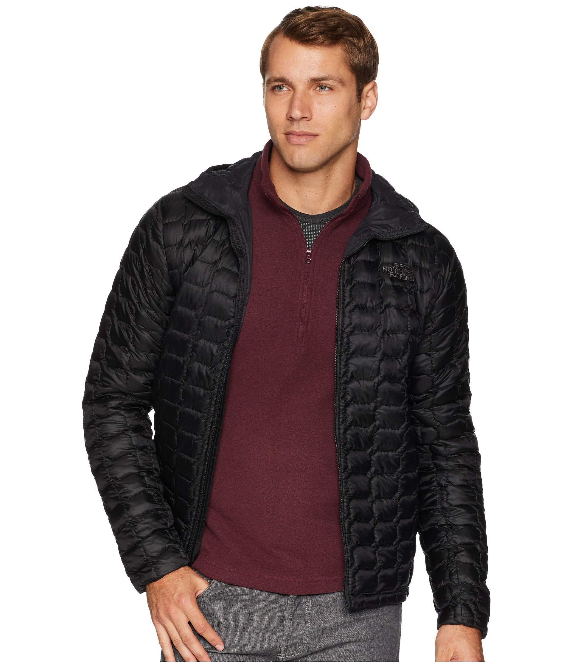 eab0dd4056 The North Face. Black Thermoball Hoodie (asphalt Grey asphalt Grey) Men s  Coat