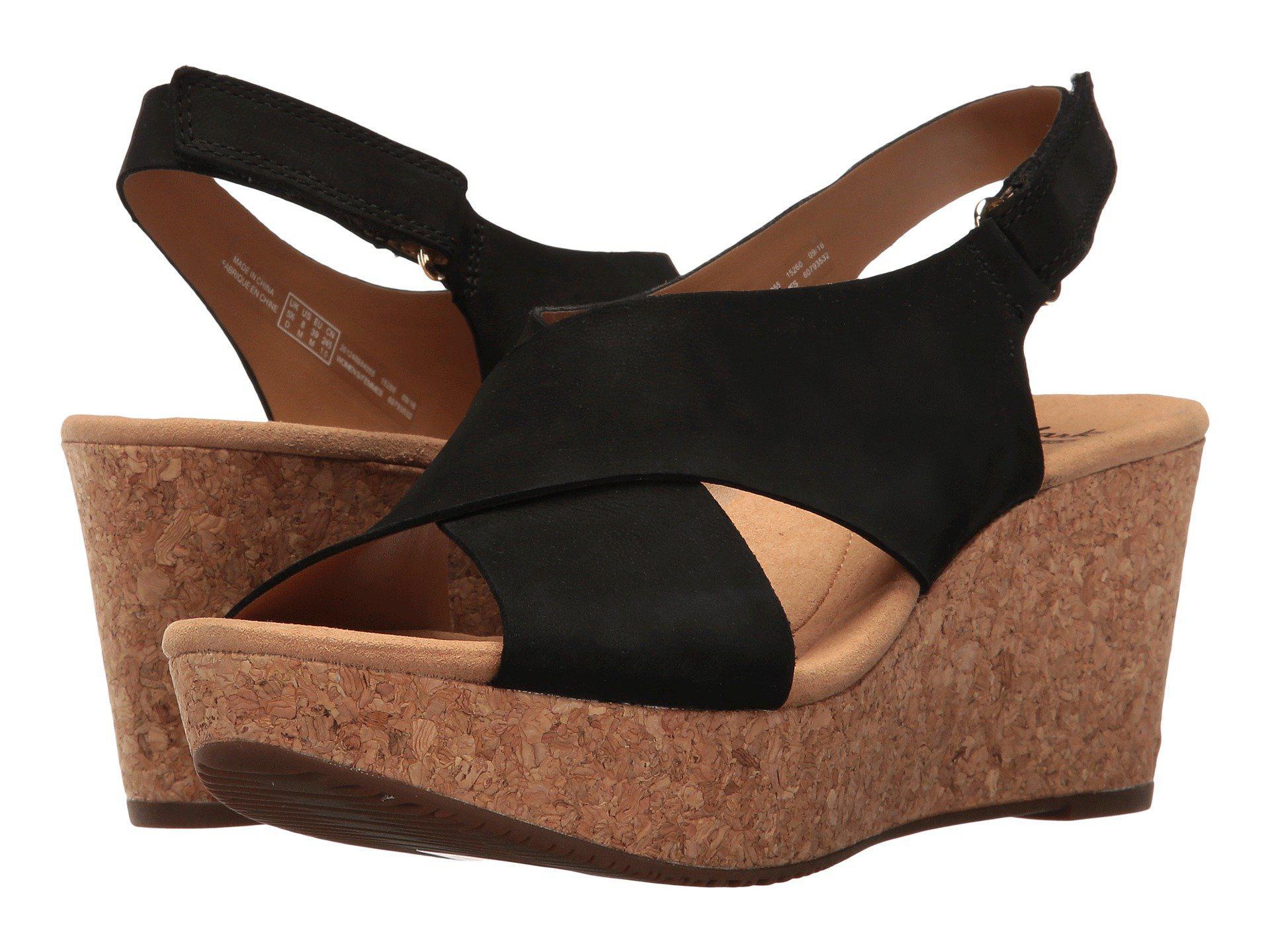 1a8815e4b7e8 Lyst - Clarks Annadel Eirwyn (gold Metallic) Women s Sandals in Black