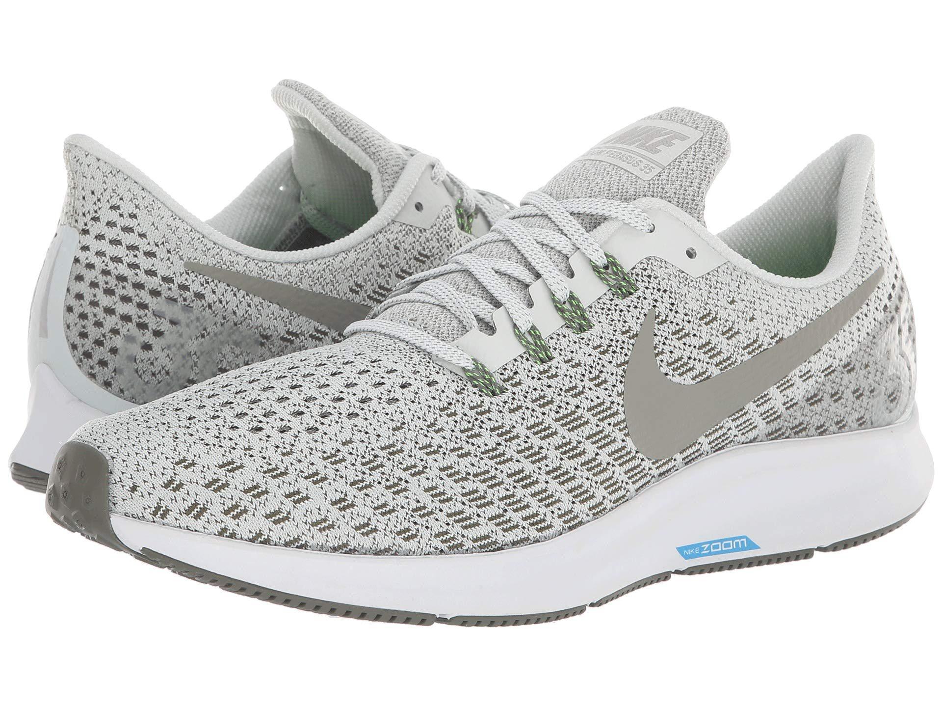 bab67f2275c2b Nike. Metallic Air Zoom Pegasus 35 (light Silver dark Stucco twilight  Marsh) Men s Running Shoes