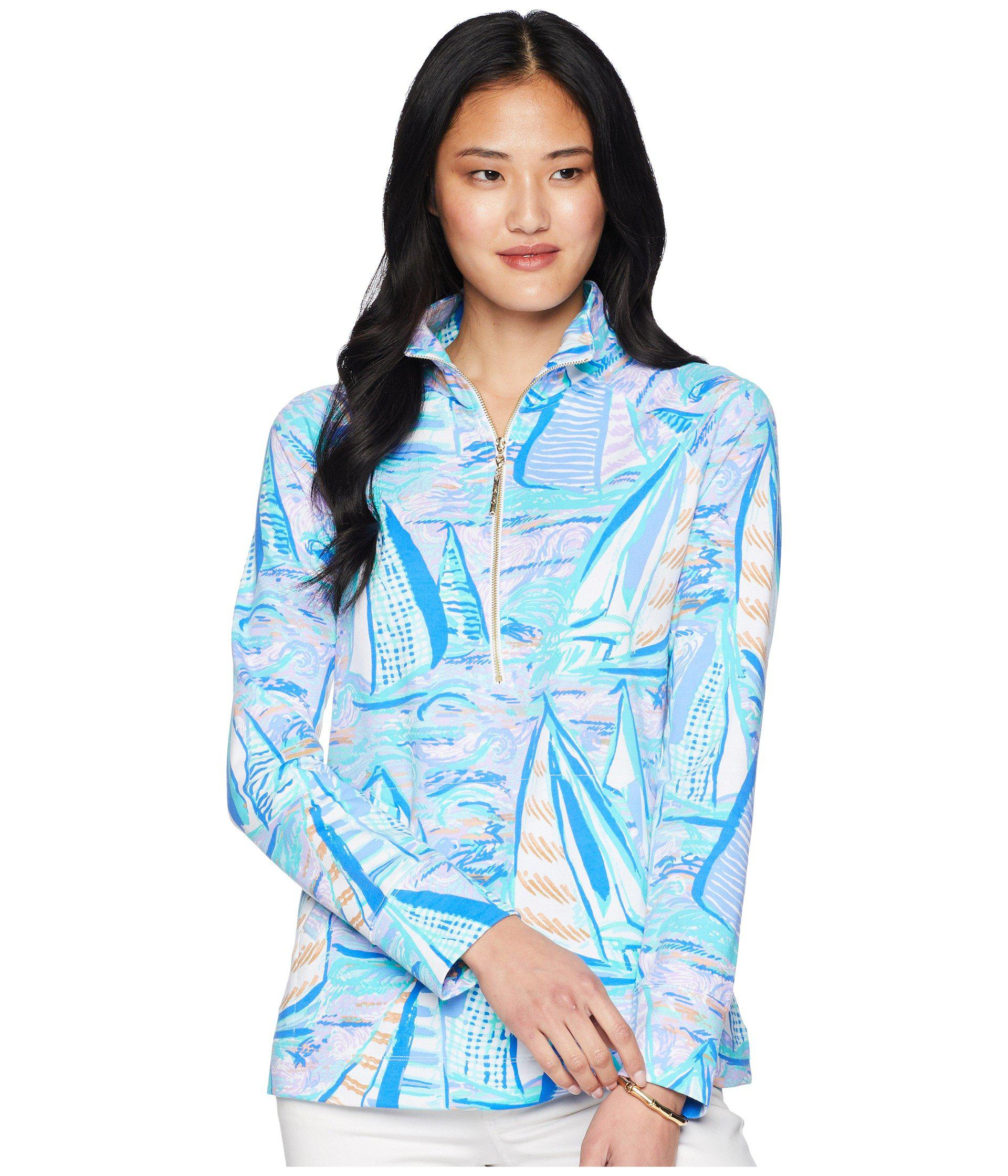 5c5a72d11ac569 Lilly Pulitzer Upf 50+ Skipper Popover (light Lilac Aboat Time ...