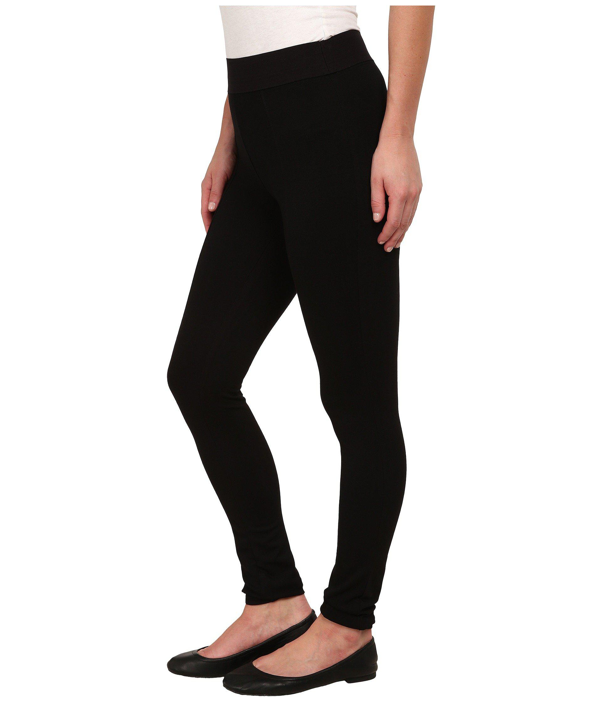278a242e2f9542 Lyst - Hue Blackout Leggings (black) Women's Casual Pants in Black