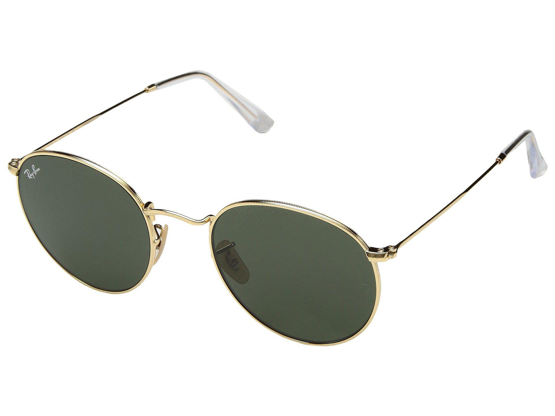 067490b8ca Ray-Ban. Women s Green Rb3447 53mm (arista Gold light Blue Gradient)  Fashion Sunglasses
