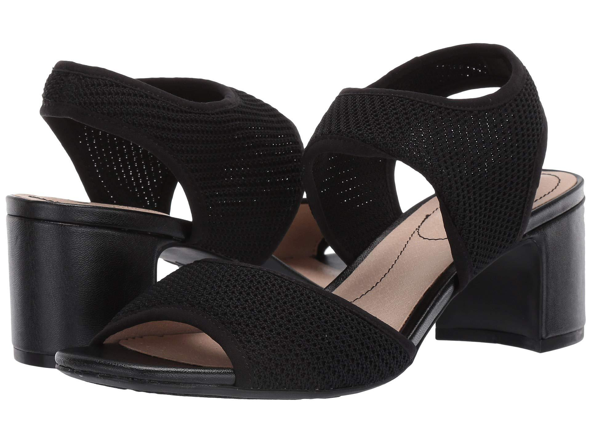 c6e3fdee1c9b LifeStride - Courtney (black Knitweave) Women s Shoes - Lyst. View  fullscreen