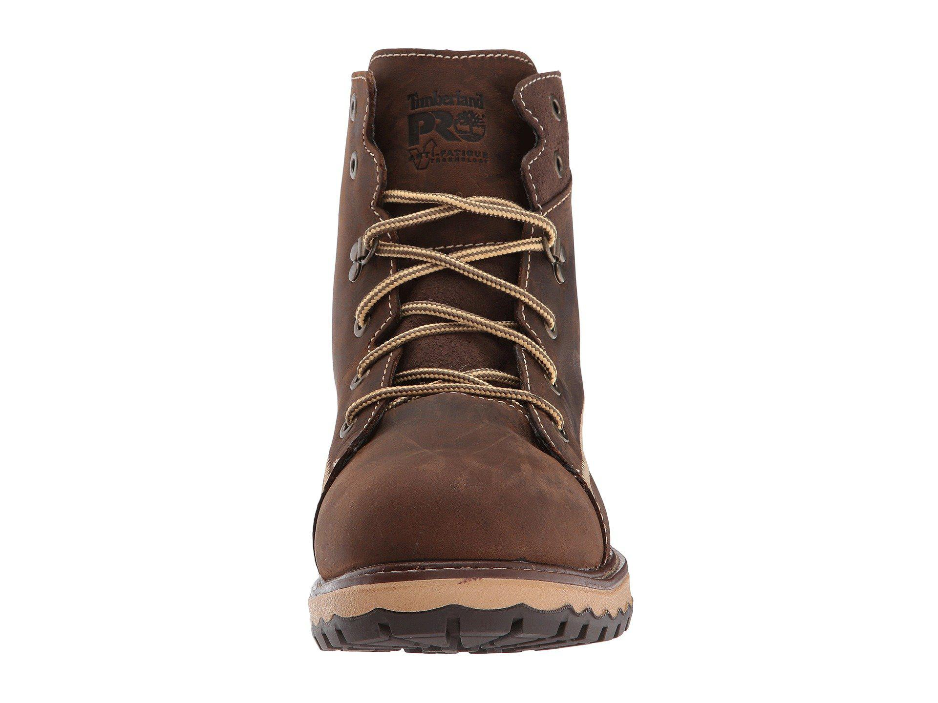 56143633b4f Brown Hightower 6 Alloy Safety Toe (kaffe Full Grain Leather) Women's Work  Lace-up Boots