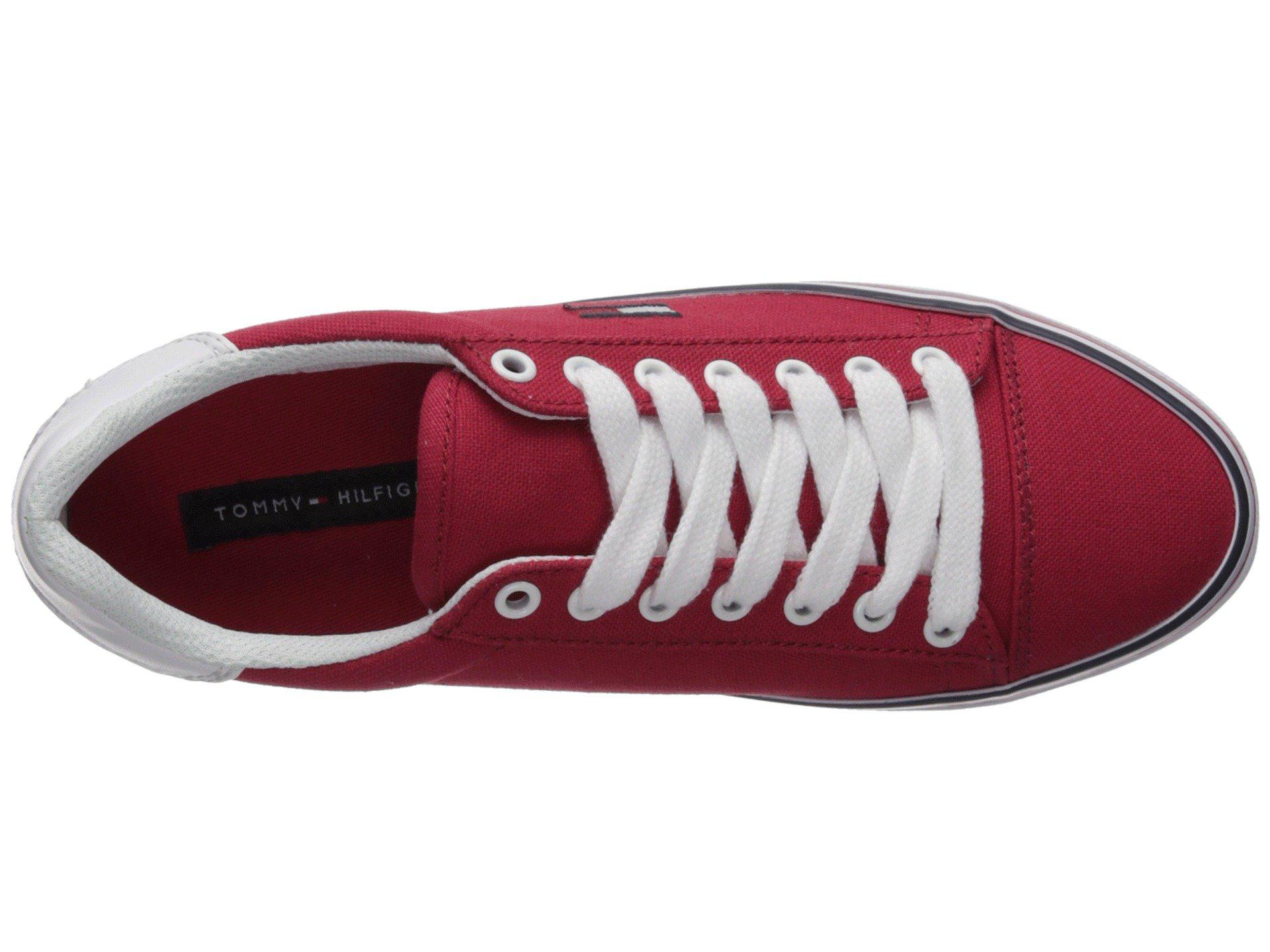 3d24af6eb376 Lyst - Tommy Hilfiger Fressian (red) Women s Shoes in Red