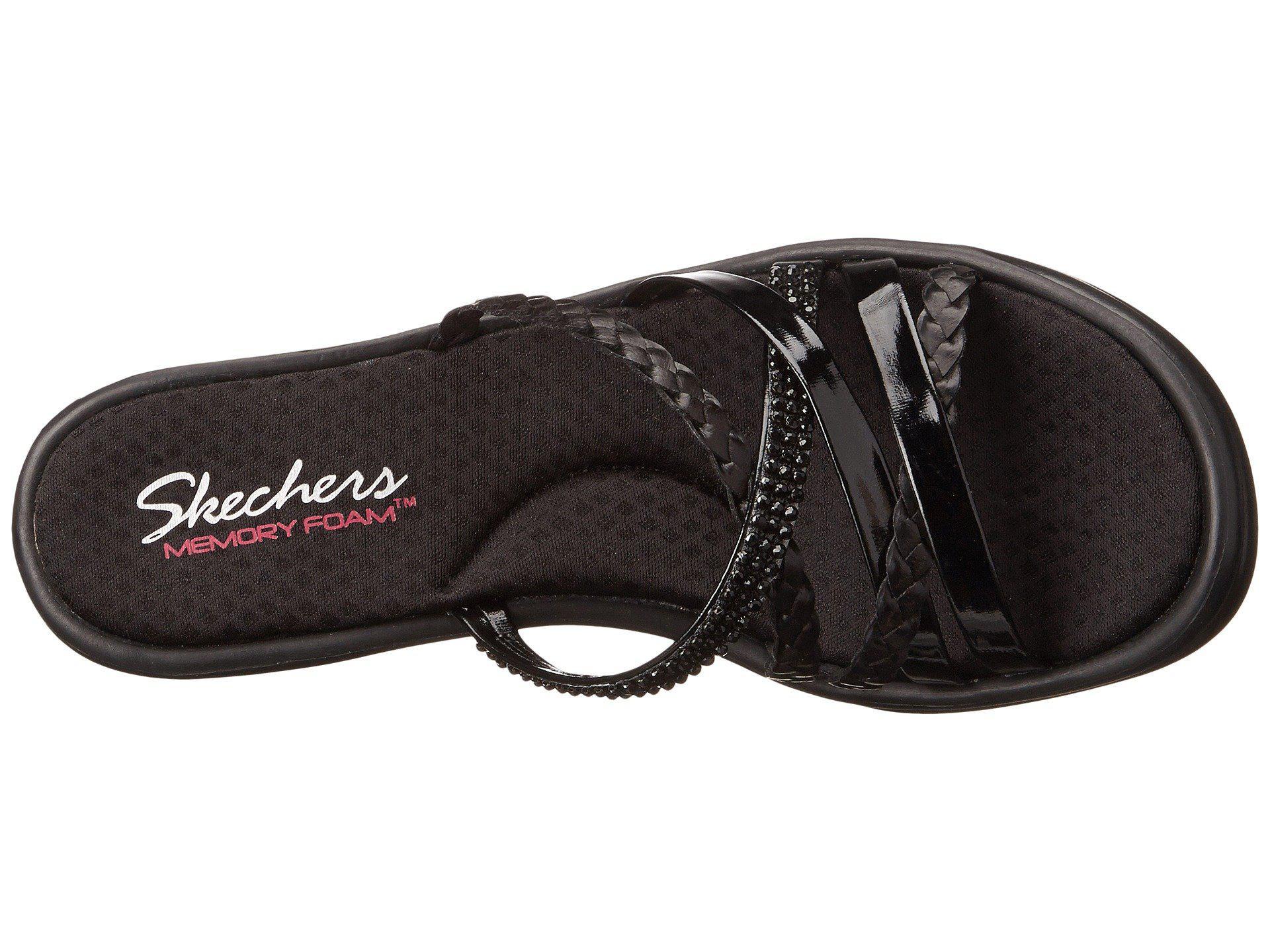 3f17c46155c7 Skechers - Cali - Rumblers - Wild Child (black black) Women s Sandals -.  View fullscreen