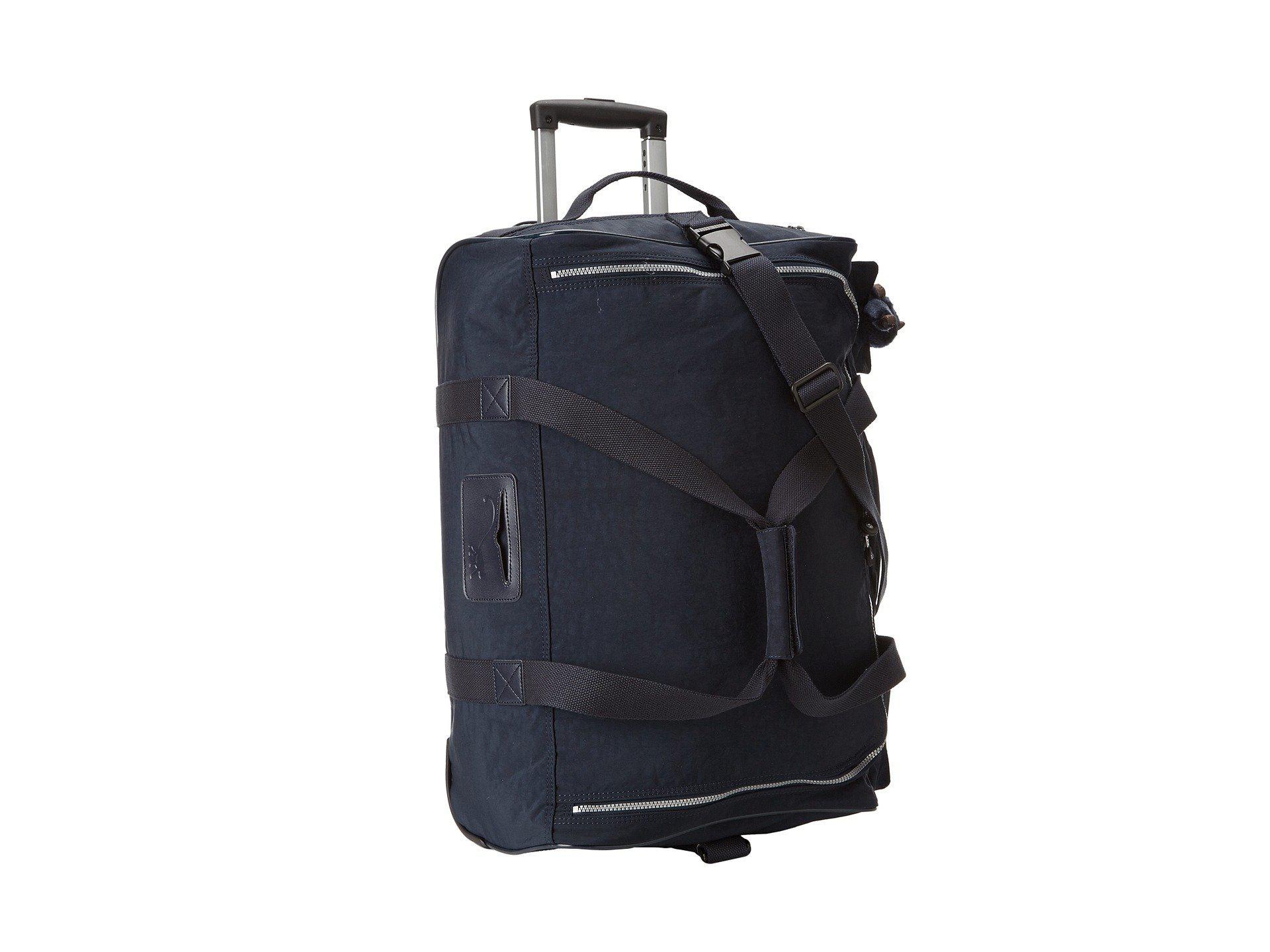 df57fdefc4 Kipling. Women s Discover Small Wheeled Luggage Duffle (true Blue) ...