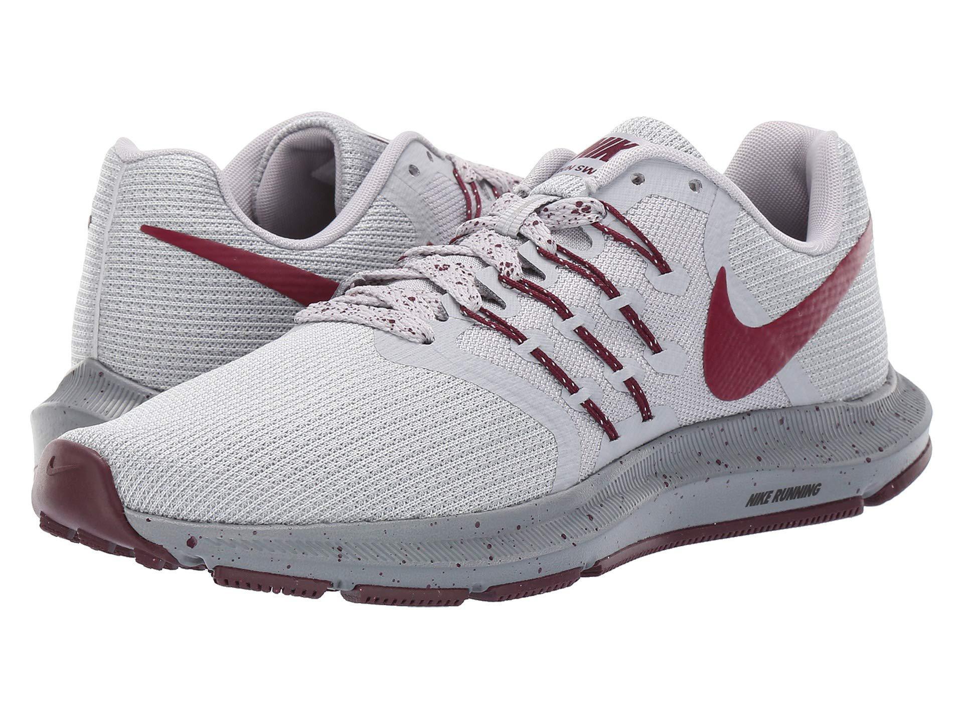 san francisco c5690 e2938 Nike - Gray Run Swift Se (wolf Grey bordeaux pure Platinum) Women s. View  fullscreen