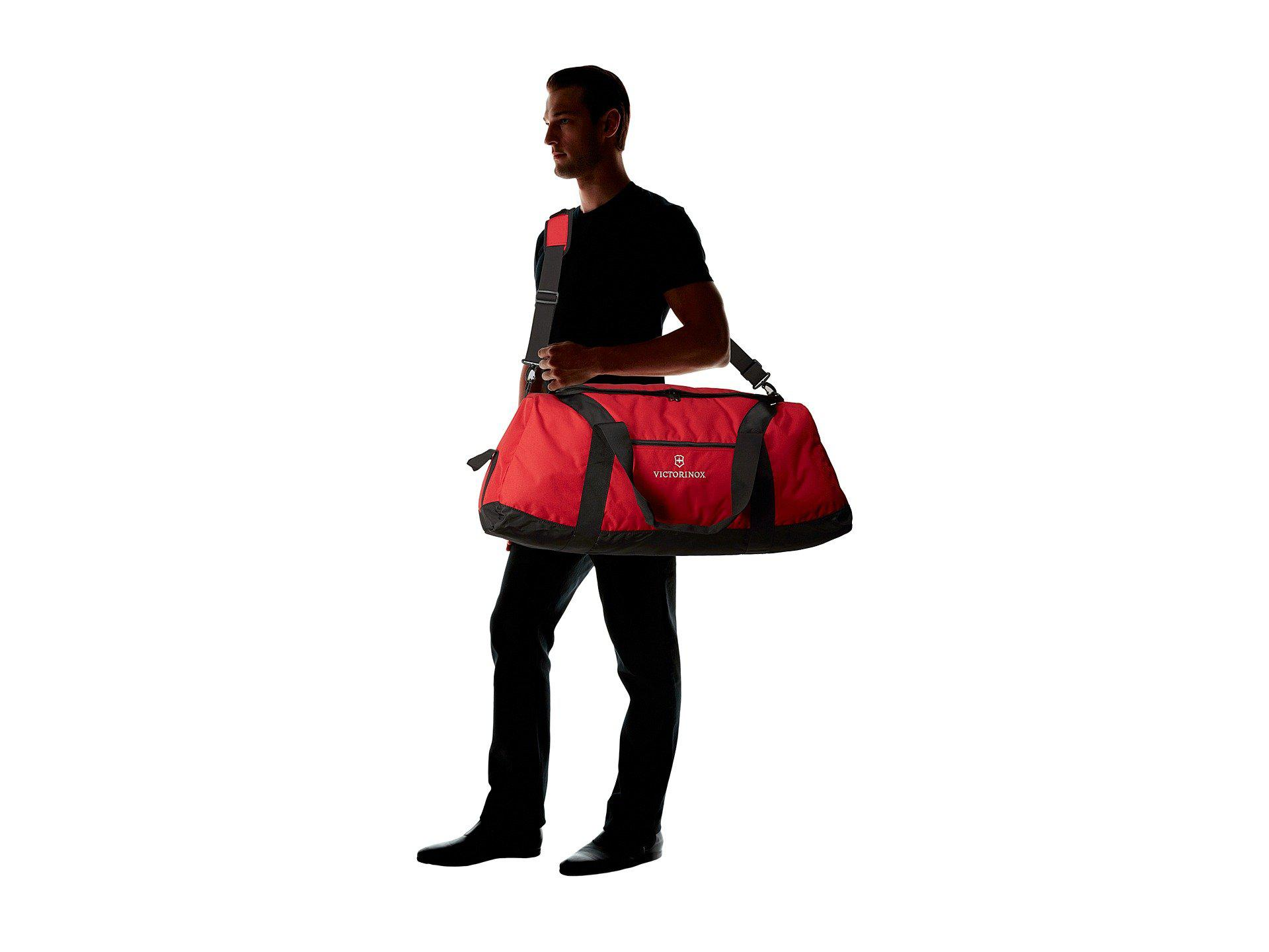 bf505a23ad Lyst - Victorinox Extra-large Travel Duffel (red) Duffel Bags in Red ...