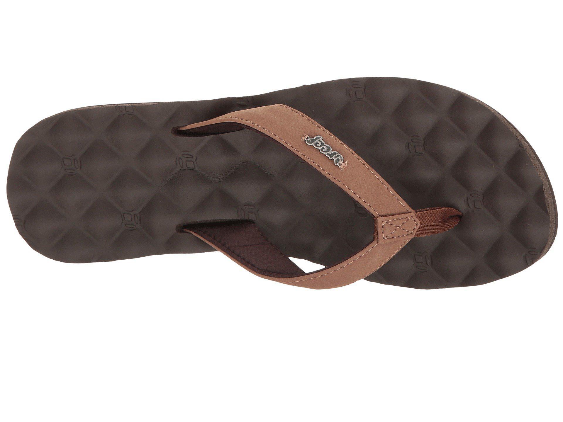 60b1239f9405 Reef - Brown Dreams (black black) Women s Sandals - Lyst. View fullscreen