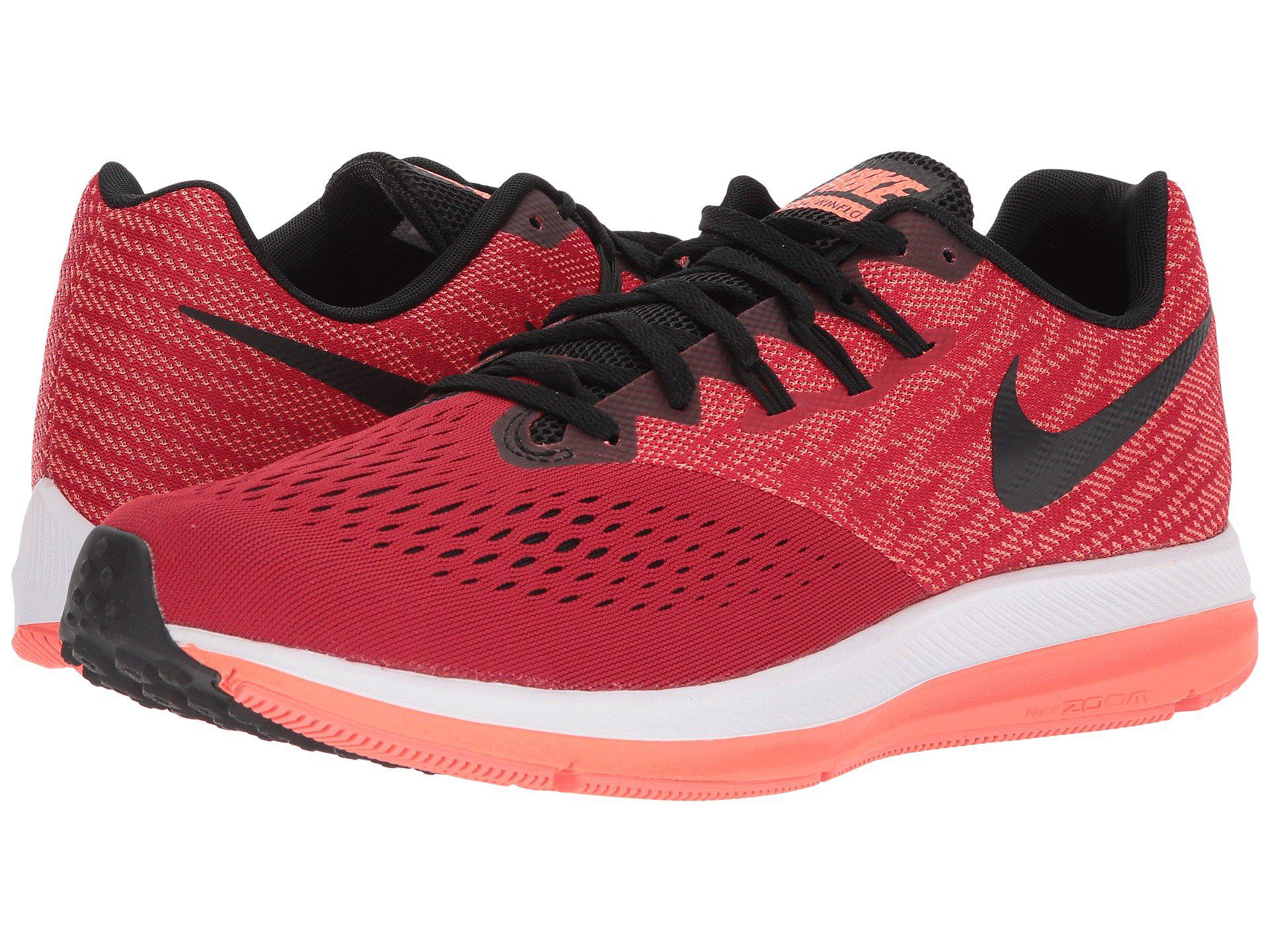 2e0951e914415 Lyst - Nike Zoom Winflo 4 Running Shoes in Red for Men