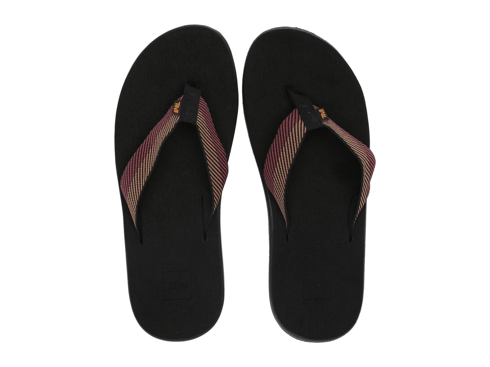 9dfe7bc9fa11 Teva - Black Voya Flip (cole Insignia Blue) Men s Sandals for Men - Lyst.  View fullscreen