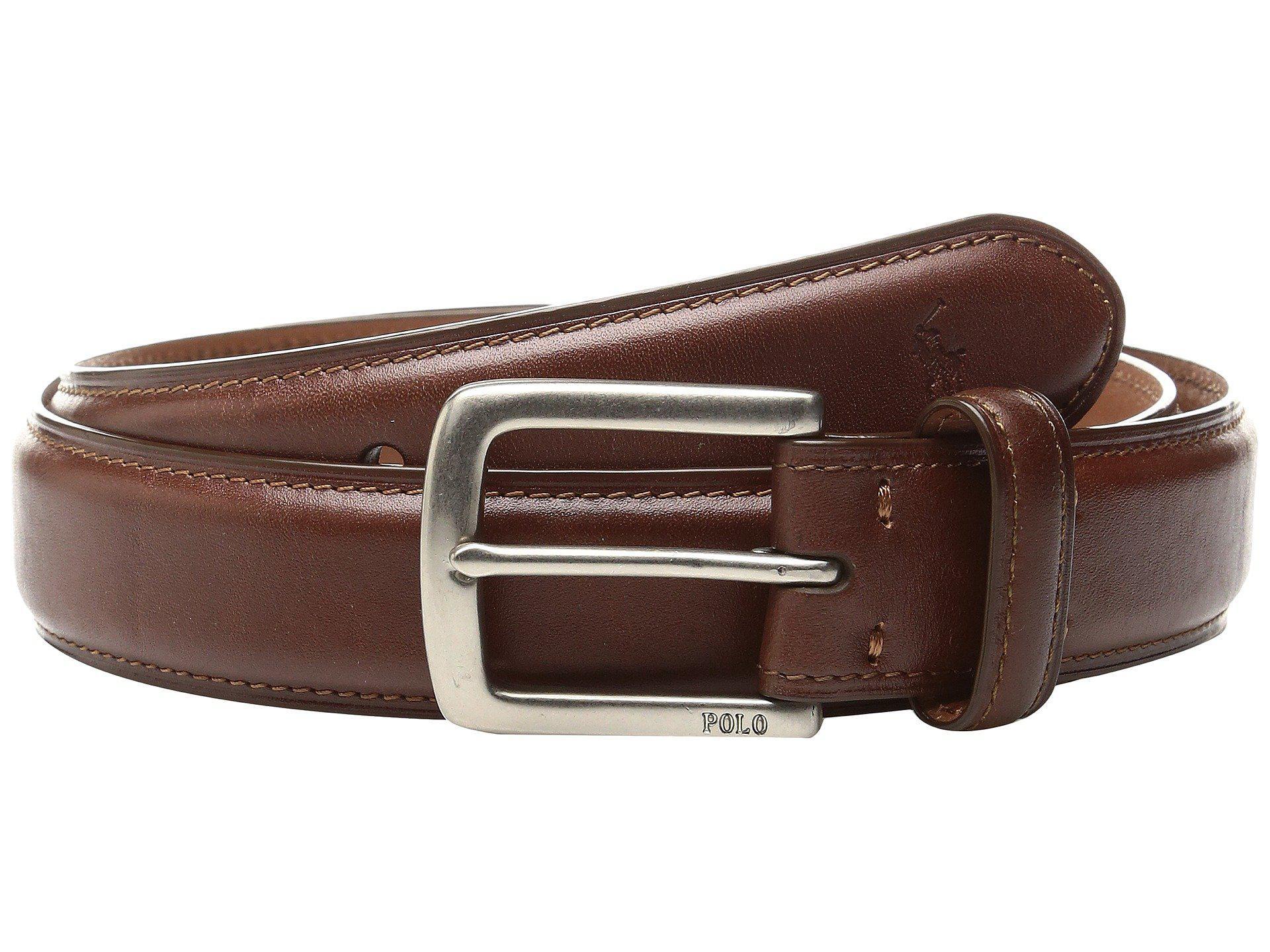 f1c03e824c Lyst - Polo Ralph Lauren Suffield Belt (tan) Men s Belts in Brown ...