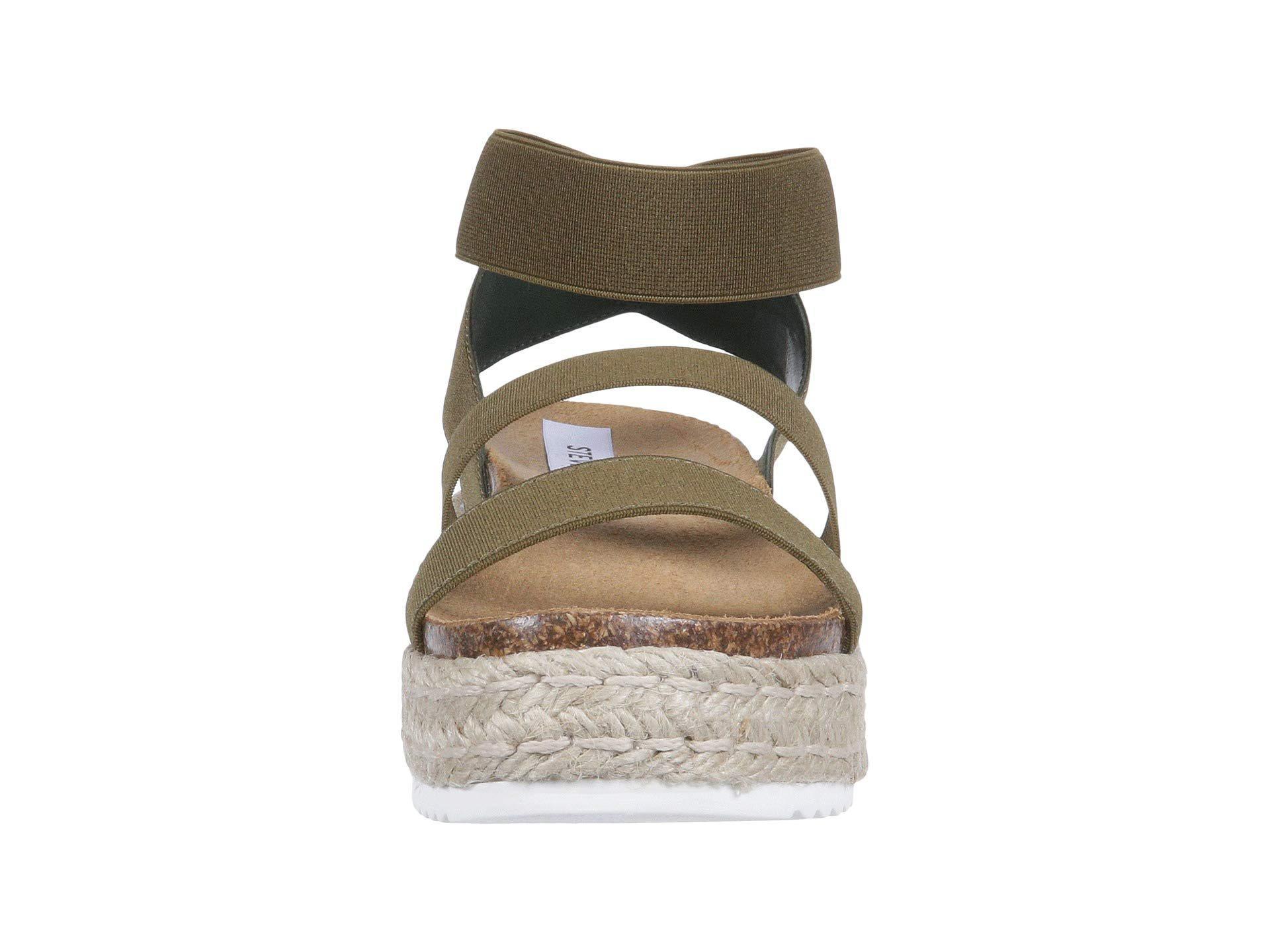 771ce0c8088 Kimmie Espadrille Sandal (black) Women s Shoes - Lyst. View fullscreen. Steve  Madden Kimmie Espadrille ...
