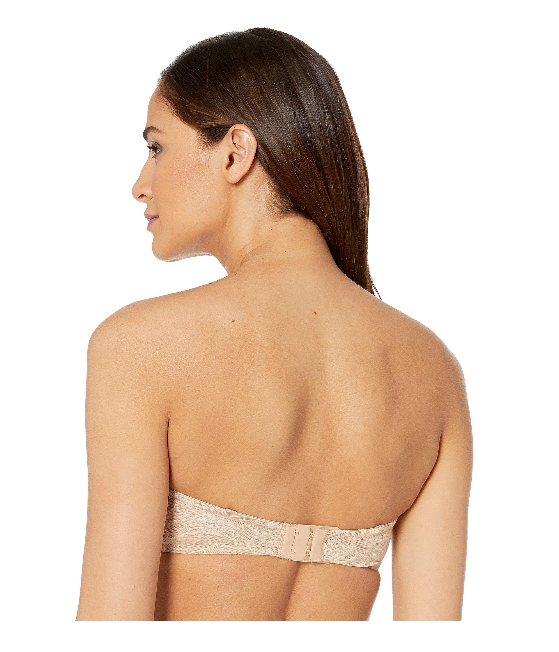 9aca07939e0 ... Lace Perfection Unlined Strapless Bra 3315 (natural) Women s Bra -  Lyst. View fullscreen