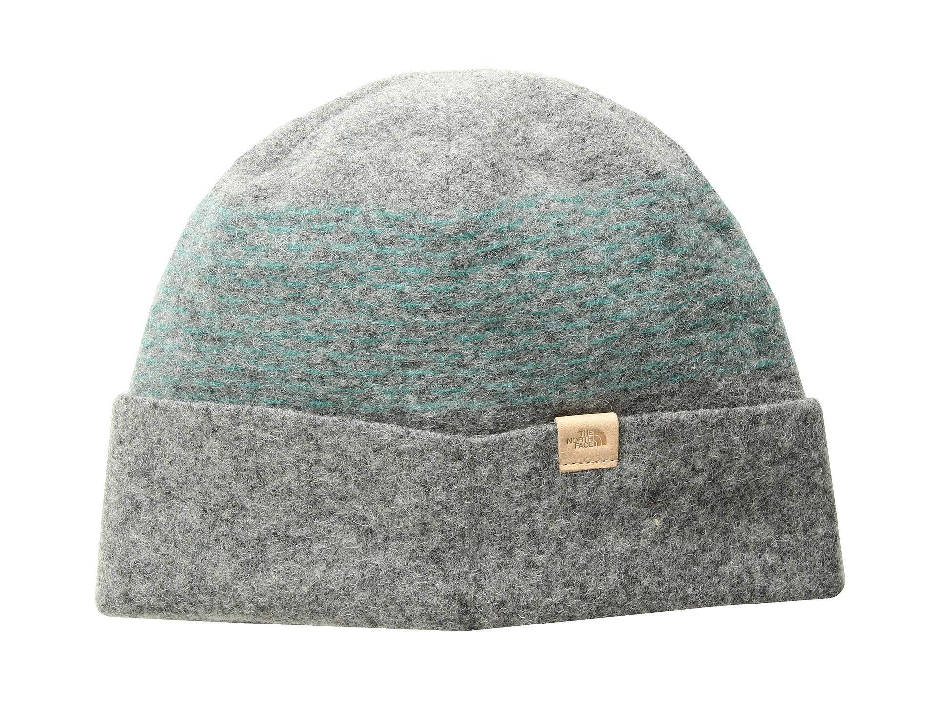 d147b3f3f22 Lyst - The North Face Felted Wool Beanie (tnf Medium Grey Heather ...