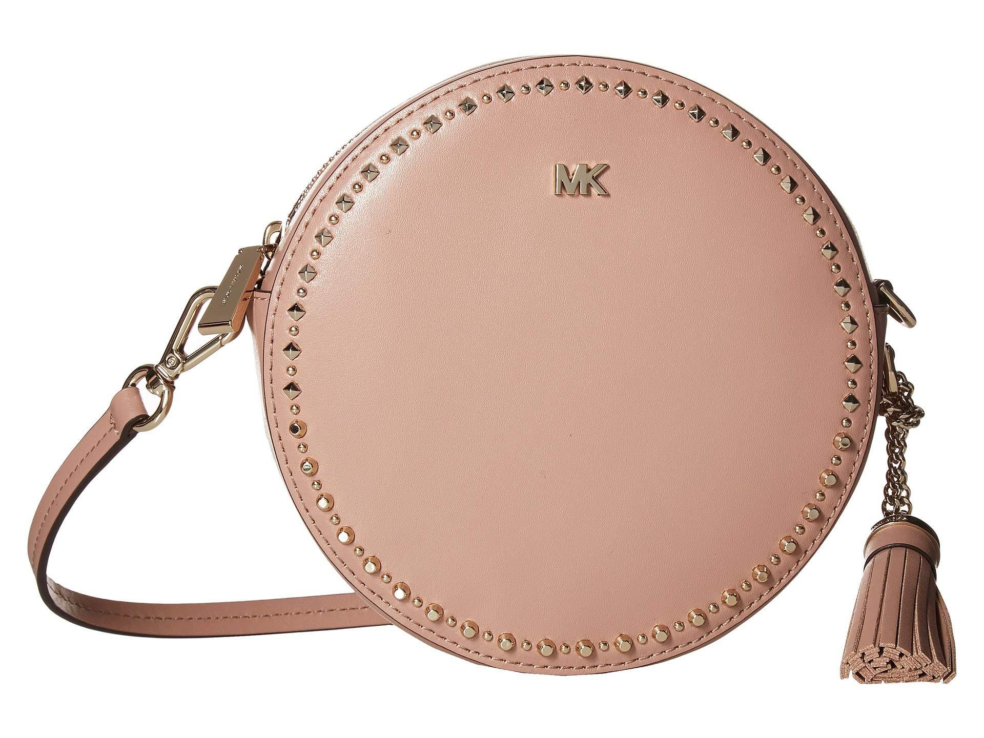 530584ddcdc1 Lyst - MICHAEL Michael Kors Medium Canteen Bag (fawn) Handbags in Pink