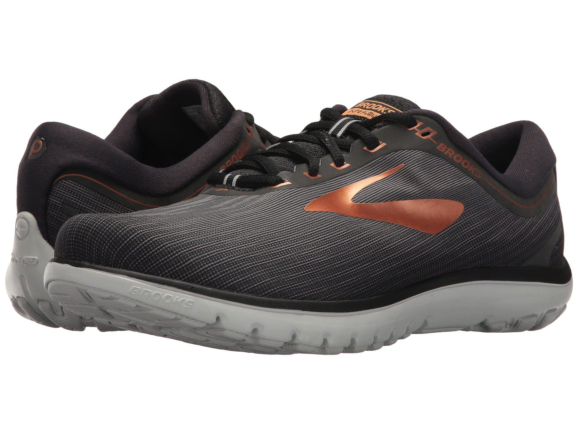457914541a1 Lyst - Brooks Pureflow 7 (grey grey black) Men s Running Shoes in ...