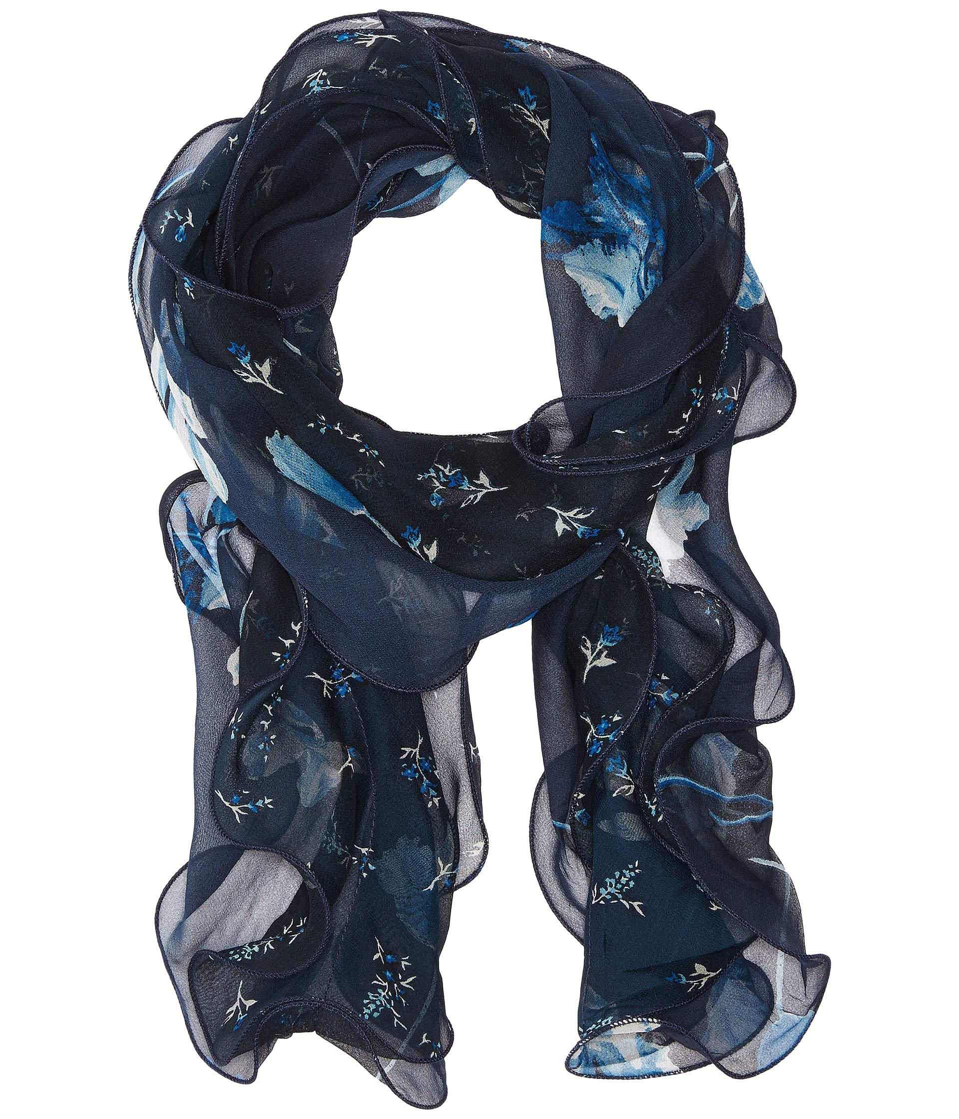 Lyst - Lauren By Ralph Lauren Sonia (navy) Scarves in Blue 4ecfd0d5208