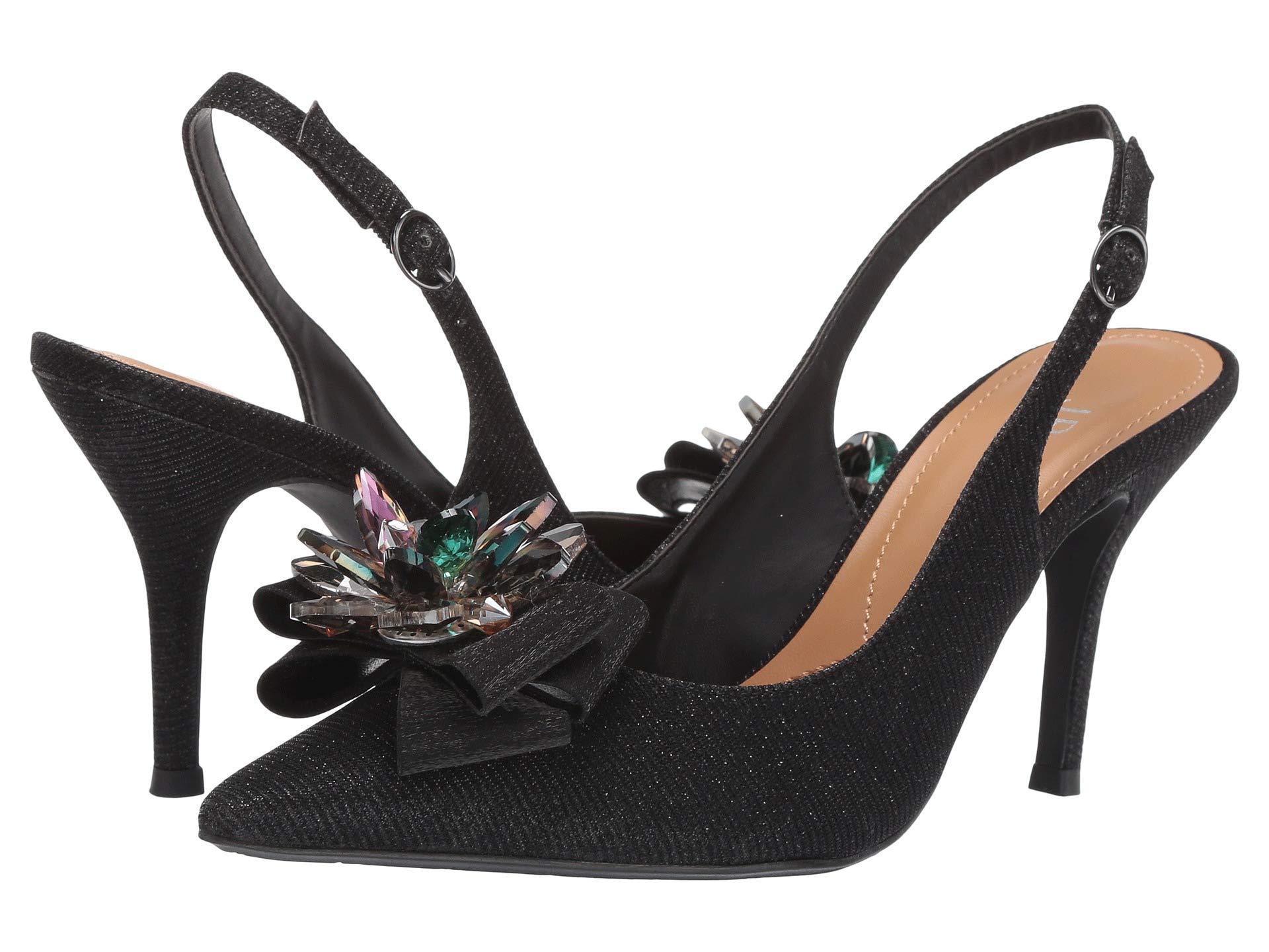 89ae80f1138 Lyst - J. Reneé Denyell (silver Glitter) High Heels in Black