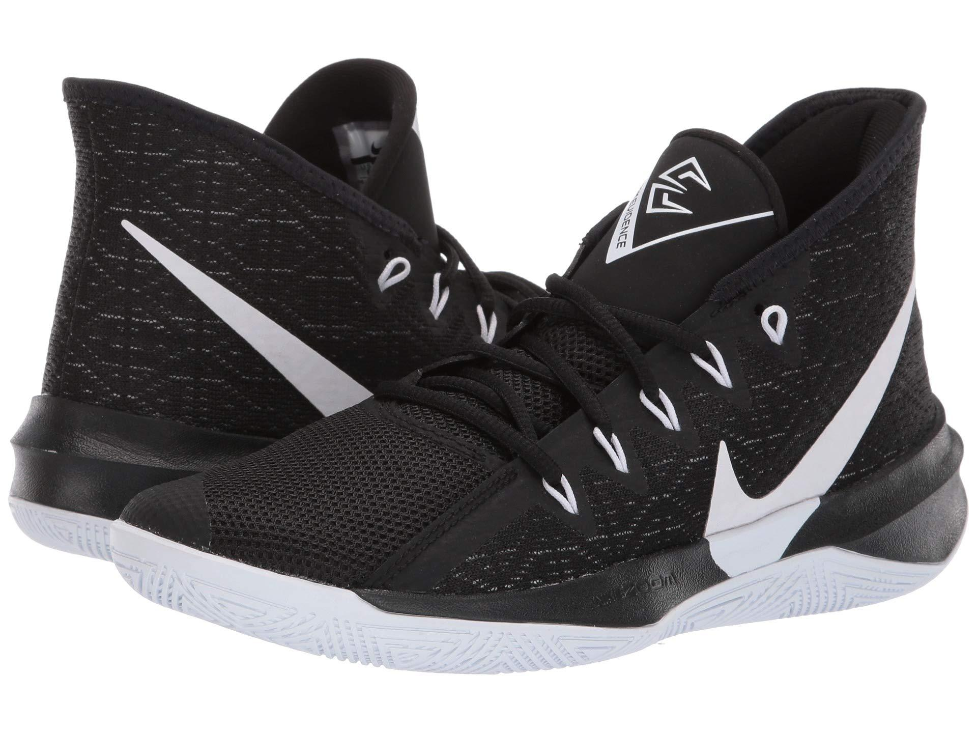 75276fba6124ed Nike. Zoom Evidence Iii (black university Red white) Men s Basketball Shoes