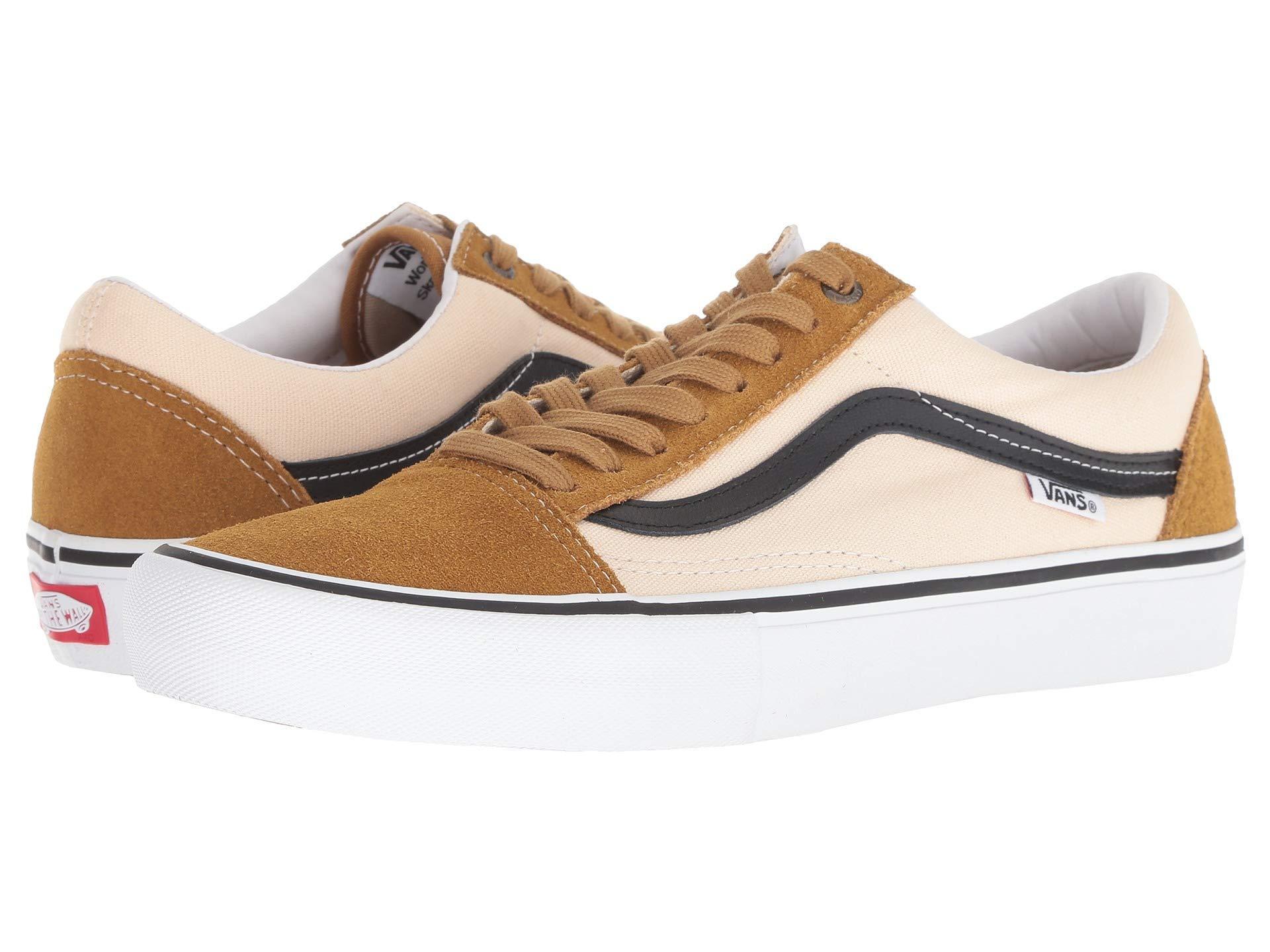 619fcd3488c Vans - Multicolor Old Skool Pro ((ballistic) Marshmallow black) Men s Skate.  View fullscreen