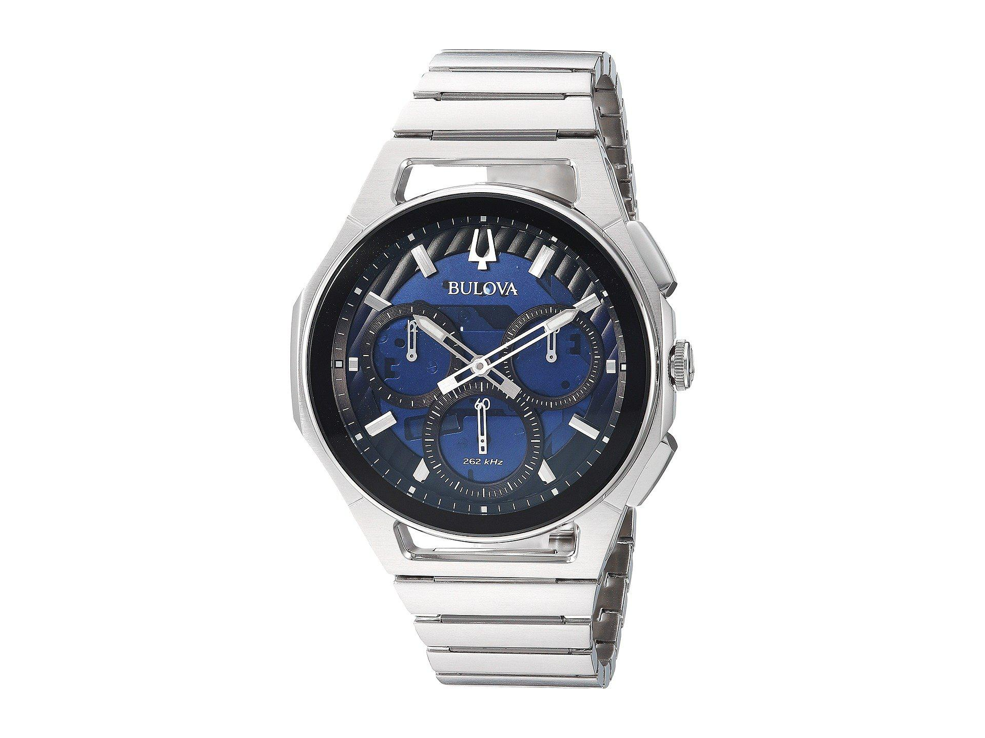 f67649700 Bulova Curv Bracelet - 96a205 (stainless) Watches for Men - Lyst