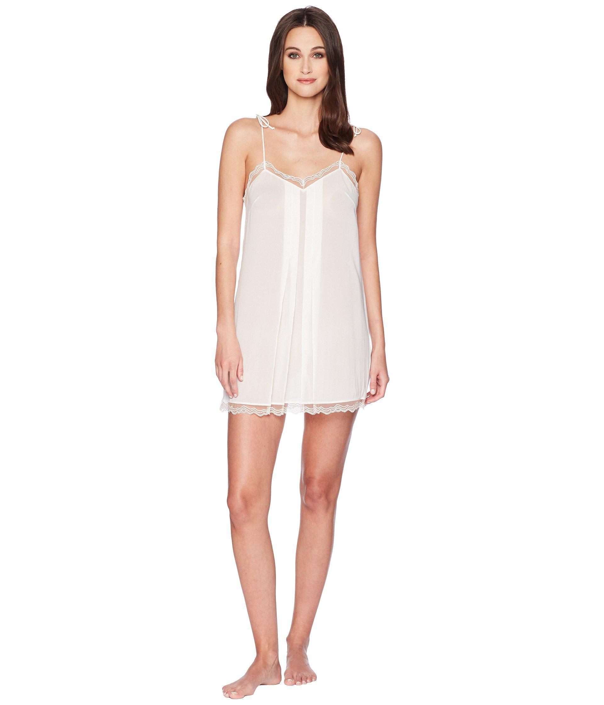 Lyst - La Perla Marble Mood Chemise (black skin) Women s Pajama in White 2879e36cb
