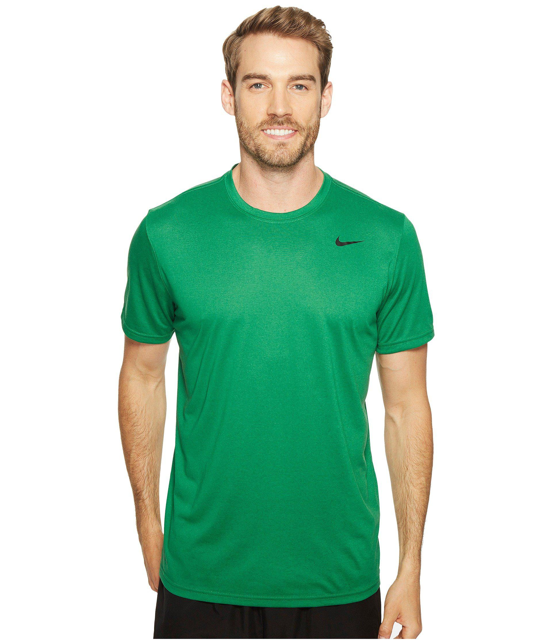 125c91d2a853 Lyst - Nike Legend 2.0 Short Sleeve Tee (light Game Royal Heather ...