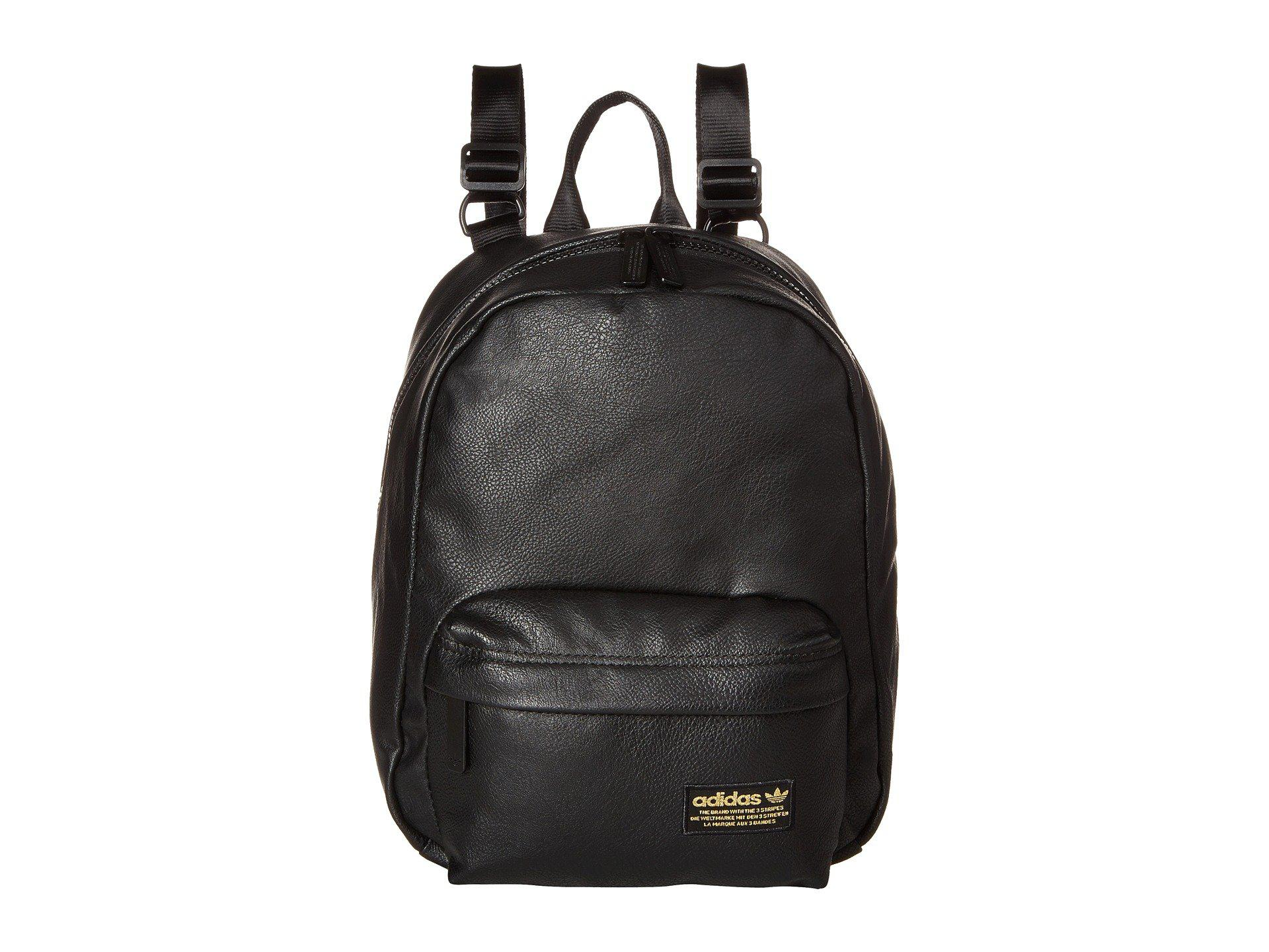 fdafa24de779 Lyst - adidas Originals National Compact Premium Backpack (black Pu ...