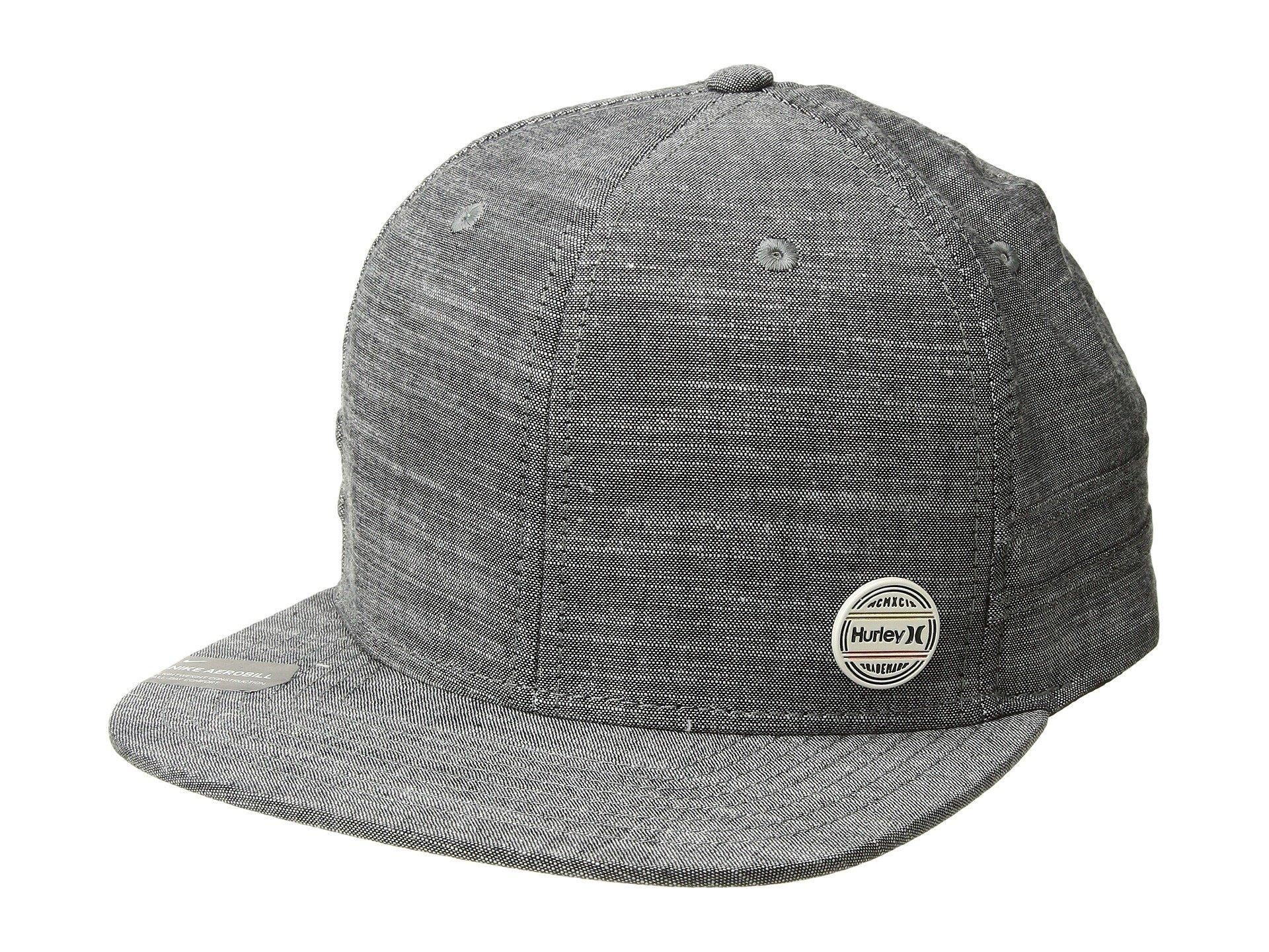 818a5714ae Lyst - Hurley Workpin Hat (black) Caps in Black for Men