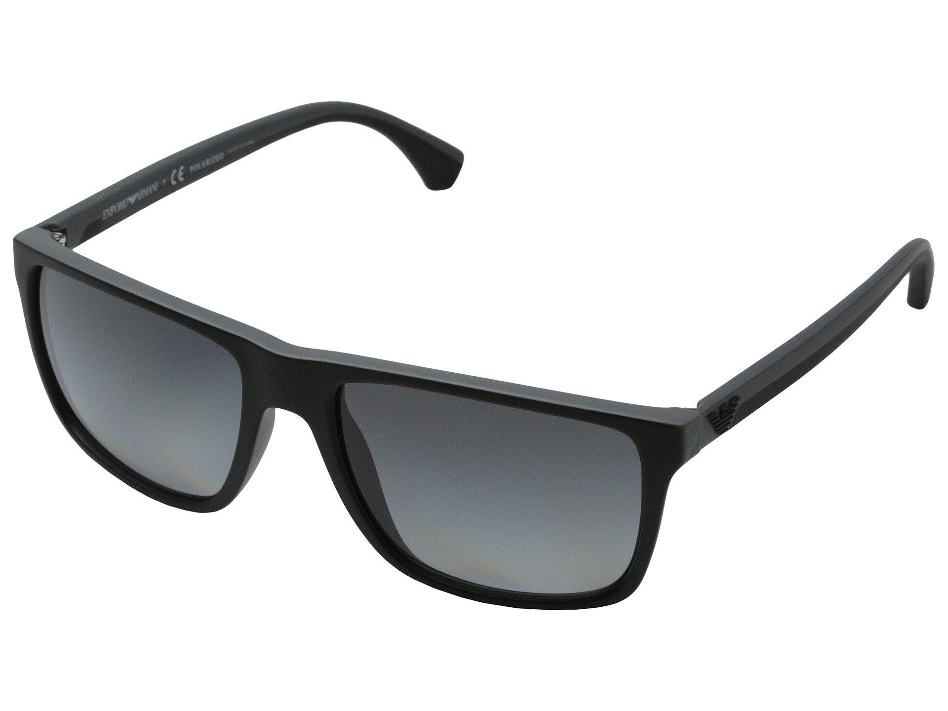f46571dfaf6 Lyst - Emporio Armani 0ea4033 (black grey Rubber polar Grey Gradient ...