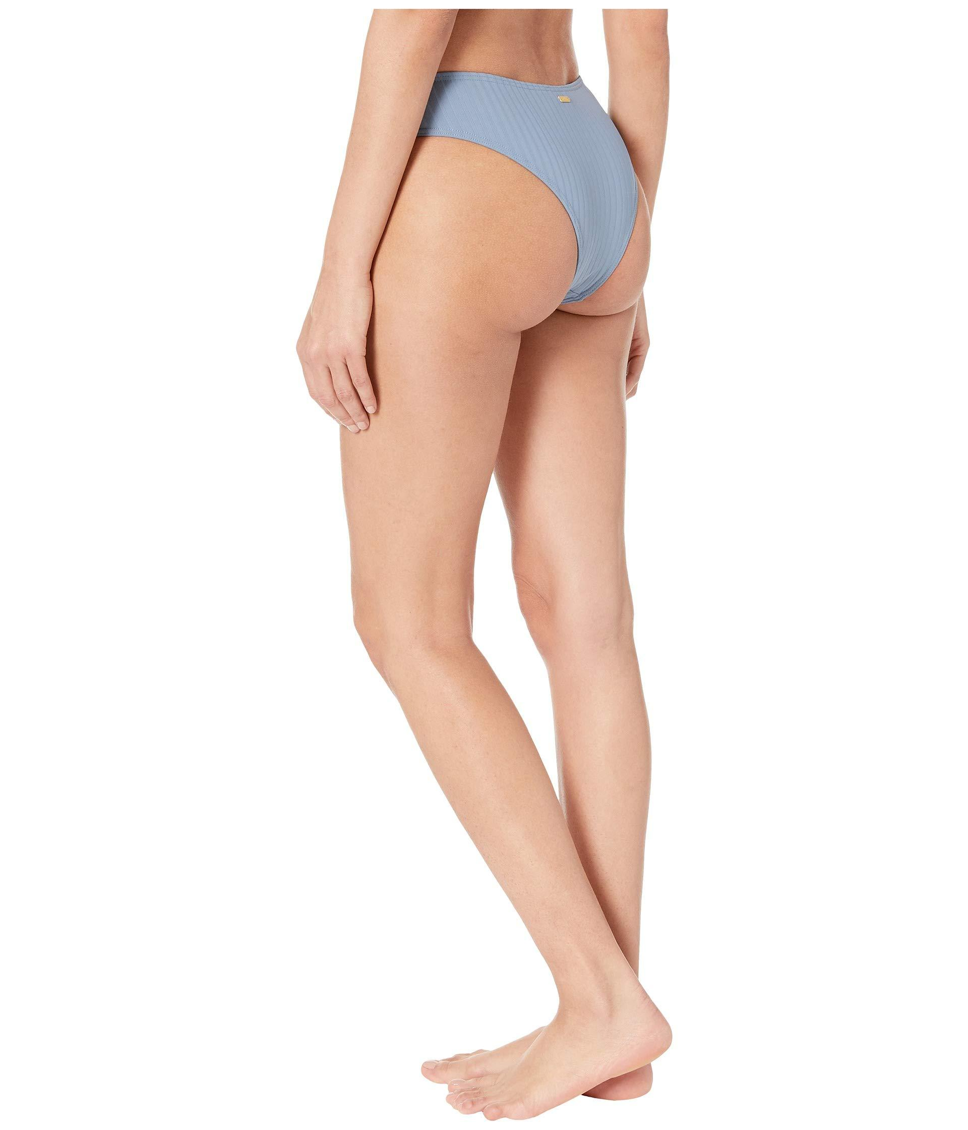 80e1e159fb3 Lyst - Roxy Color My Life Moderate High Leg Swimsuit Bottoms (blue ...
