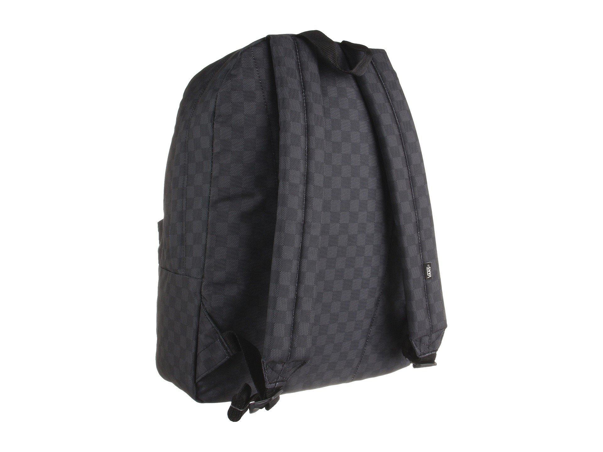 c6092049819e Vans - Black Old Skool Ii Backpack (herringbone) Backpack Bags for Men -  Lyst. View fullscreen