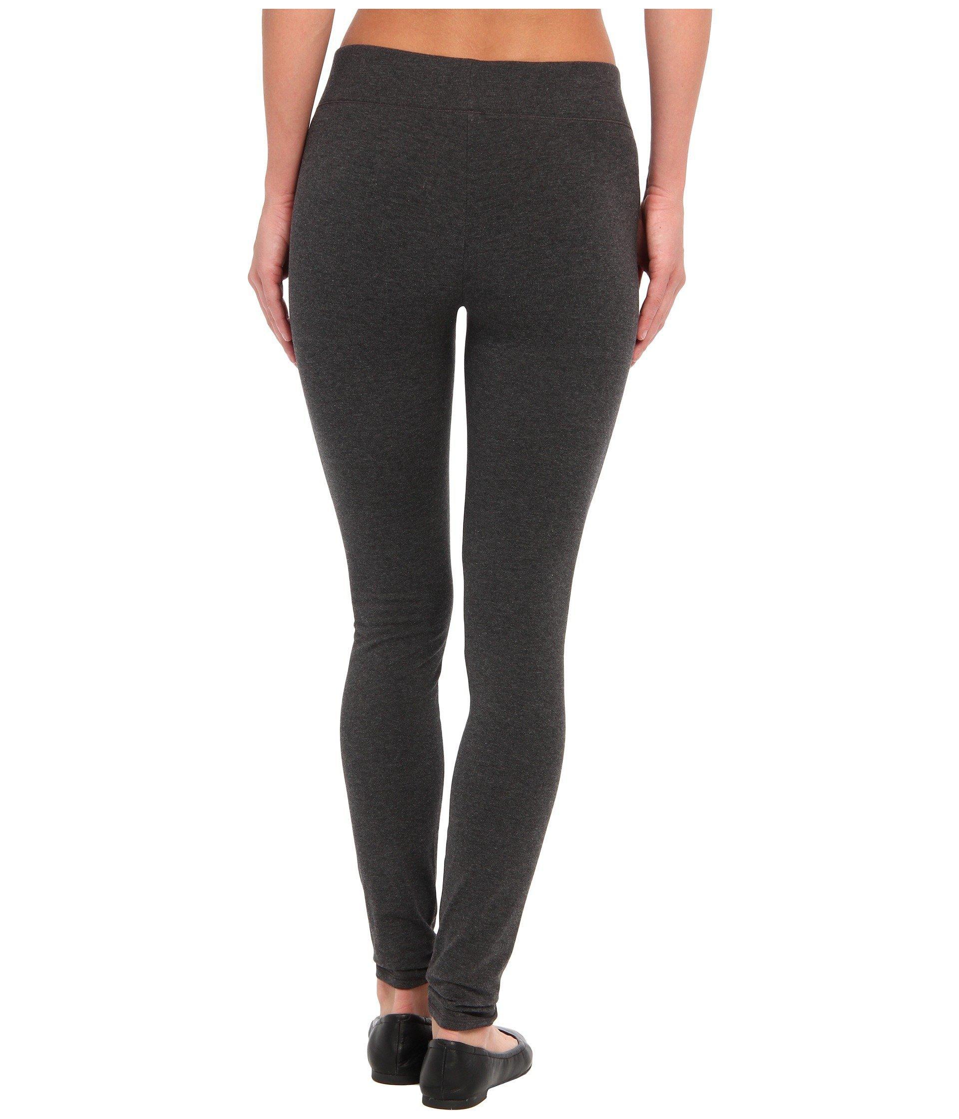 3bde22ada39 Hue - Gray Ultra Leggings W  Wide Waistband (black) Women s Clothing -  Lyst. View fullscreen