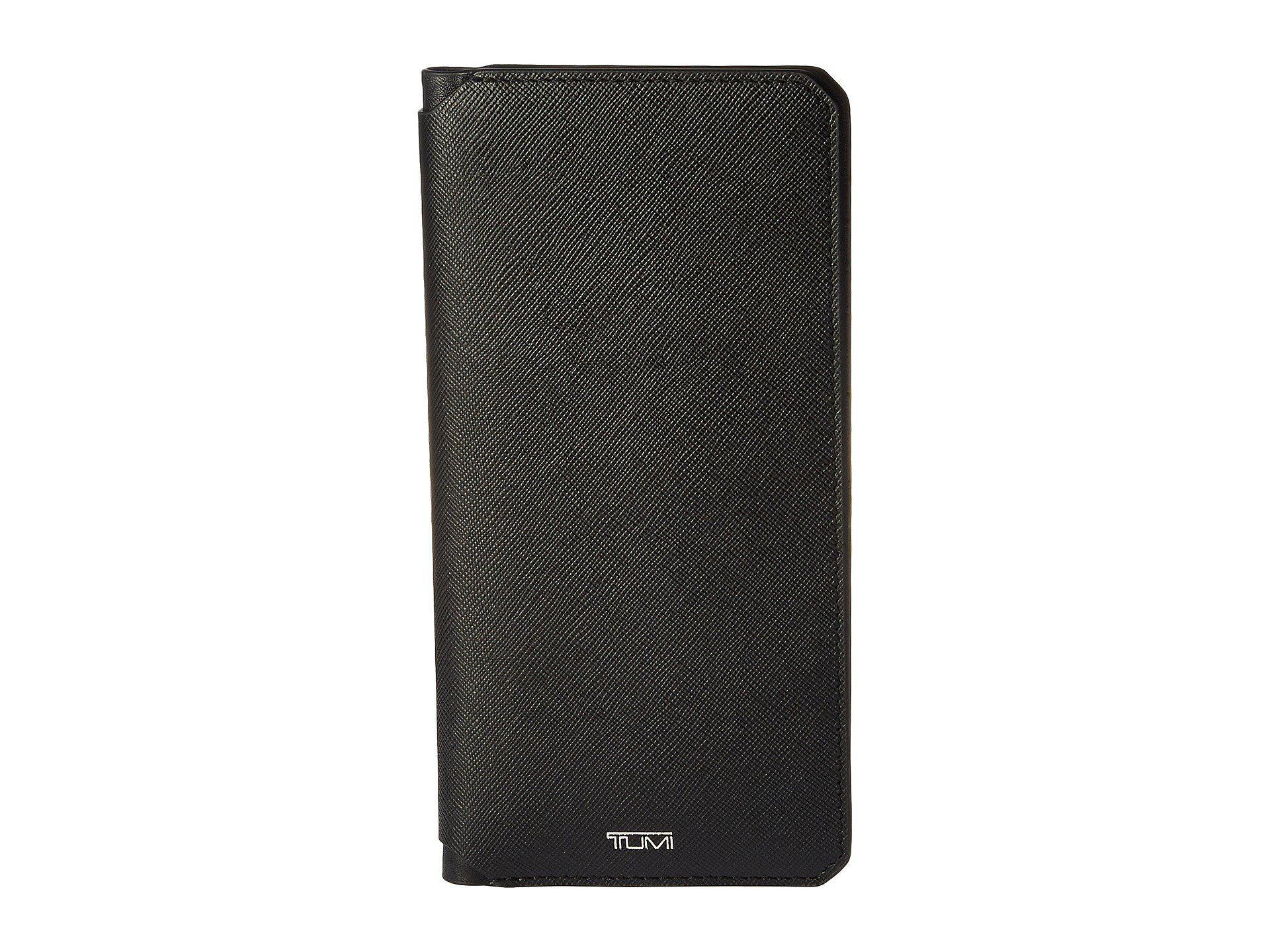 efe4a2e5ef5000 Lyst Tumi Mason Coat Pocket Wallet In Black. Tumi Monaco Leather Wallet. Men  S Tumi Wallets Nordstrom