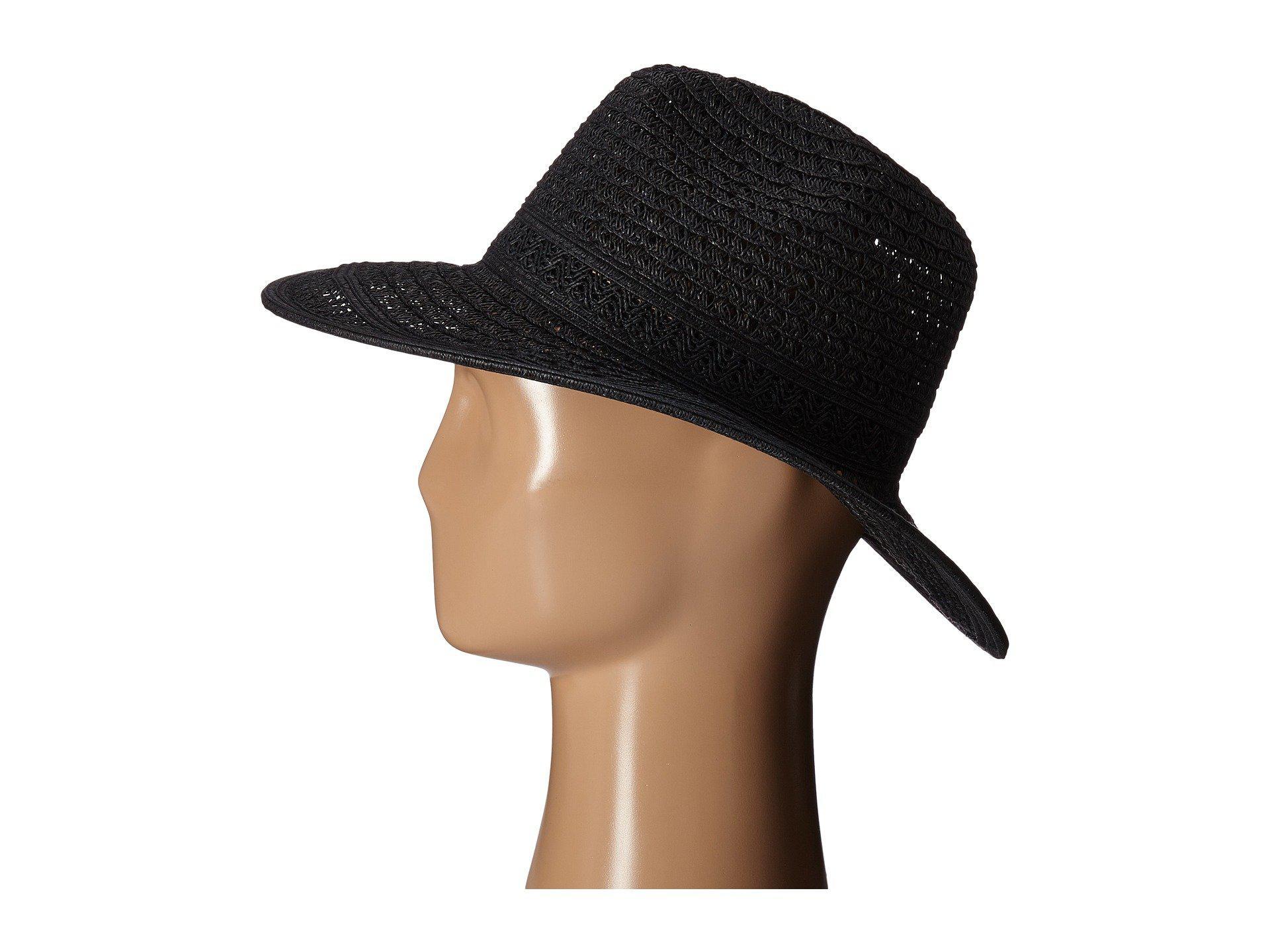 Lyst - San Diego Hat Company Ubm4452 Open Weave Panama Sun Hat in ... 0d0037797c49